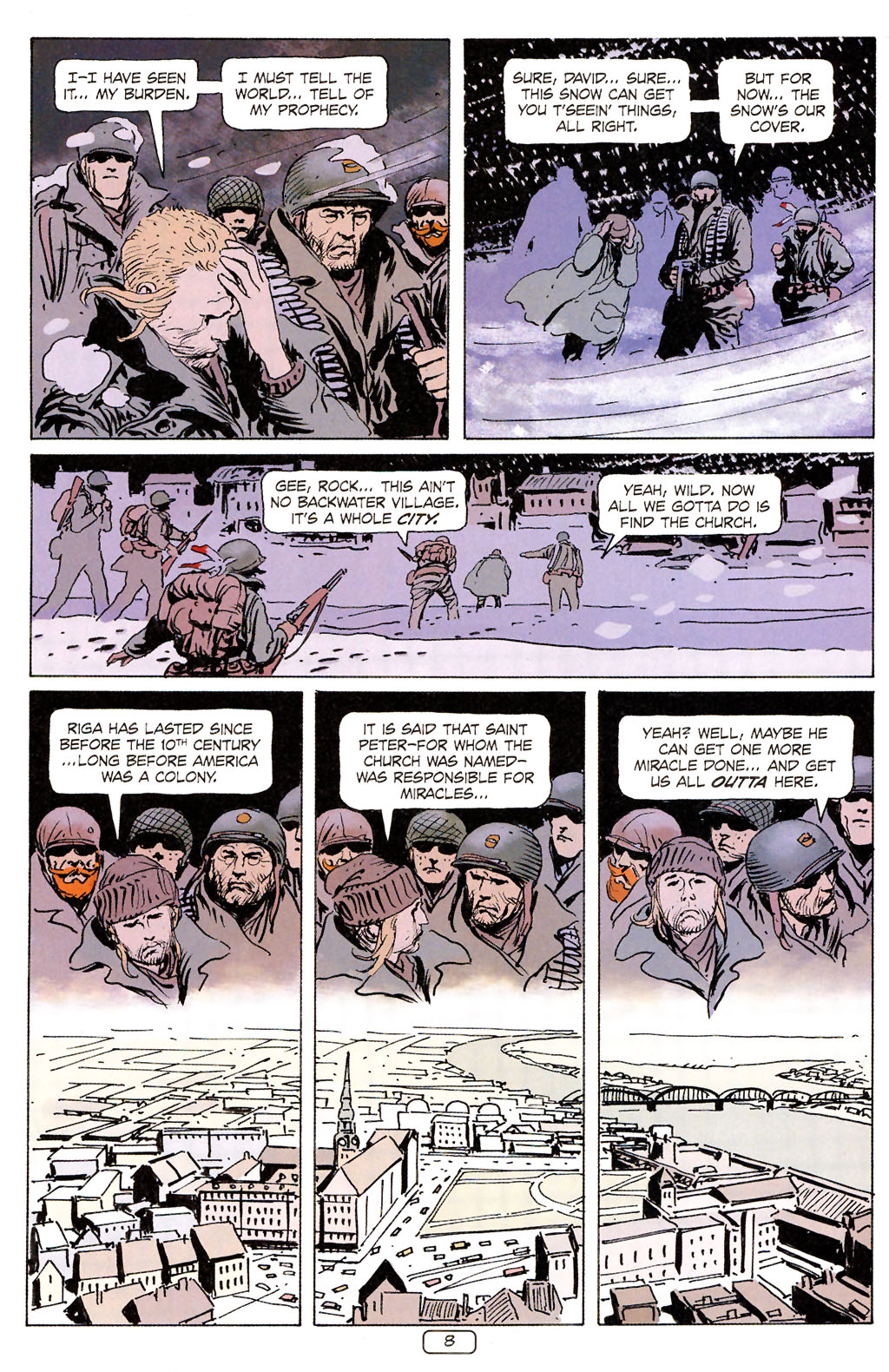 Read online Sgt. Rock: The Prophecy comic -  Issue #6 - 8