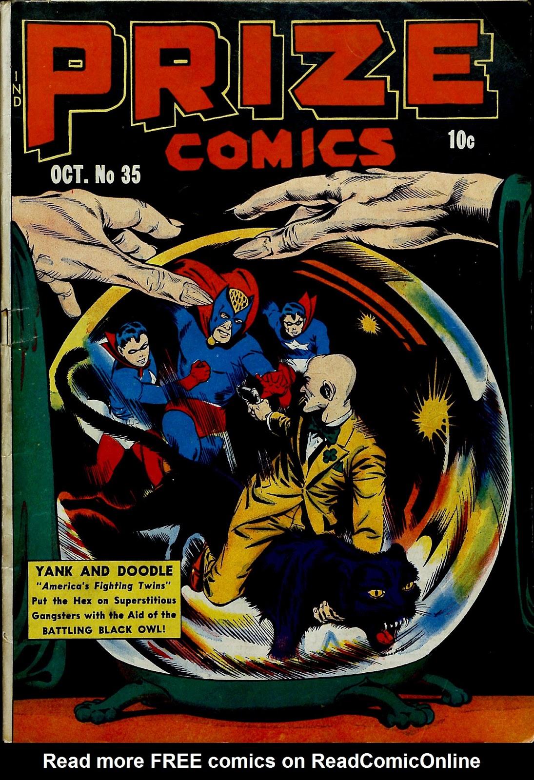 Prize Comics 35 Page 1