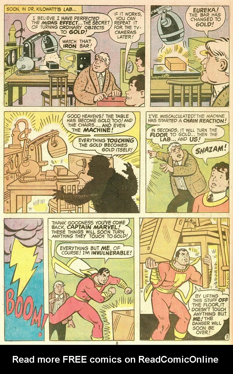 Read online Shazam! (1973) comic -  Issue #12 - 8