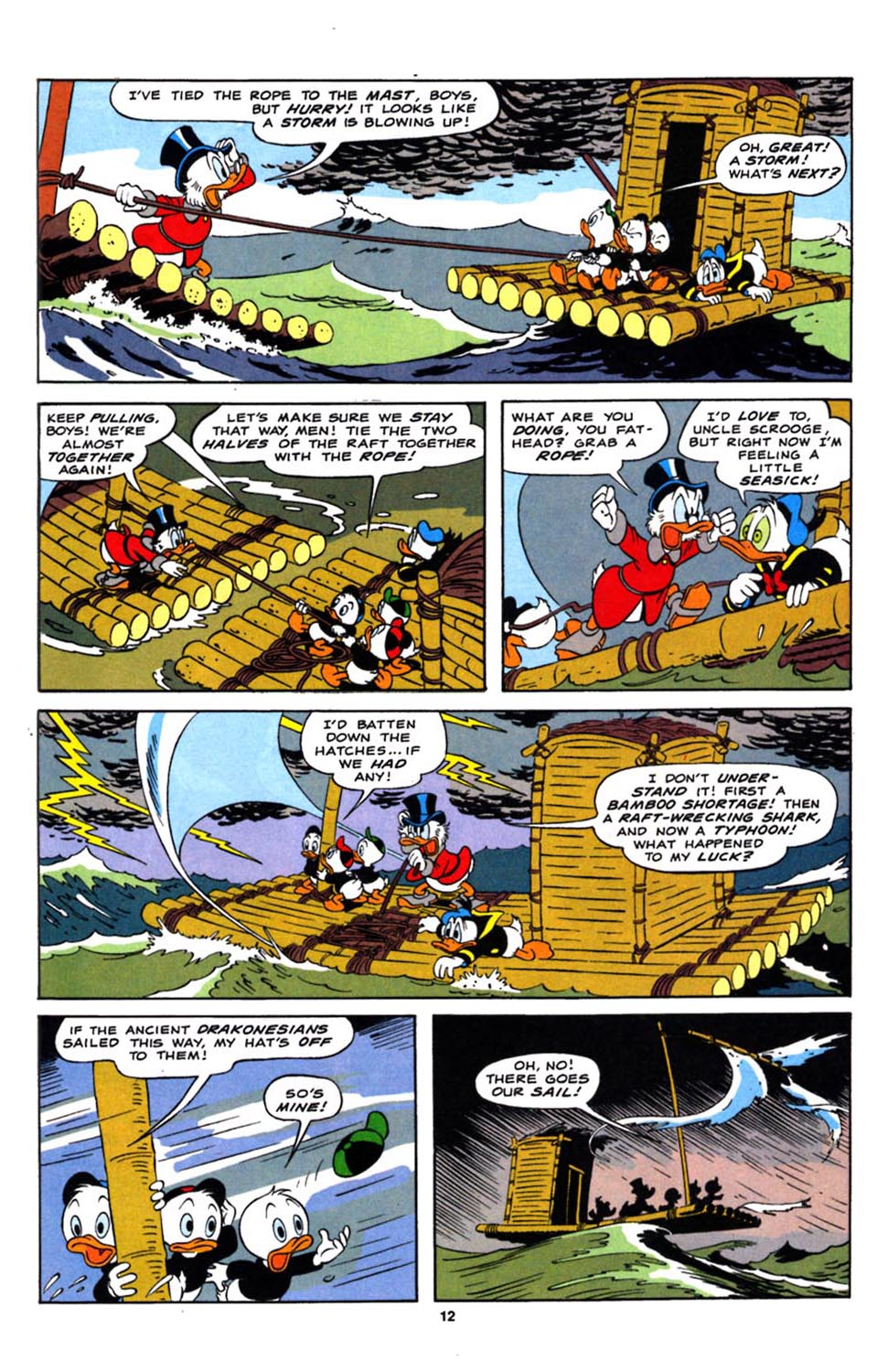 Read online Uncle Scrooge (1953) comic -  Issue #244 - 14