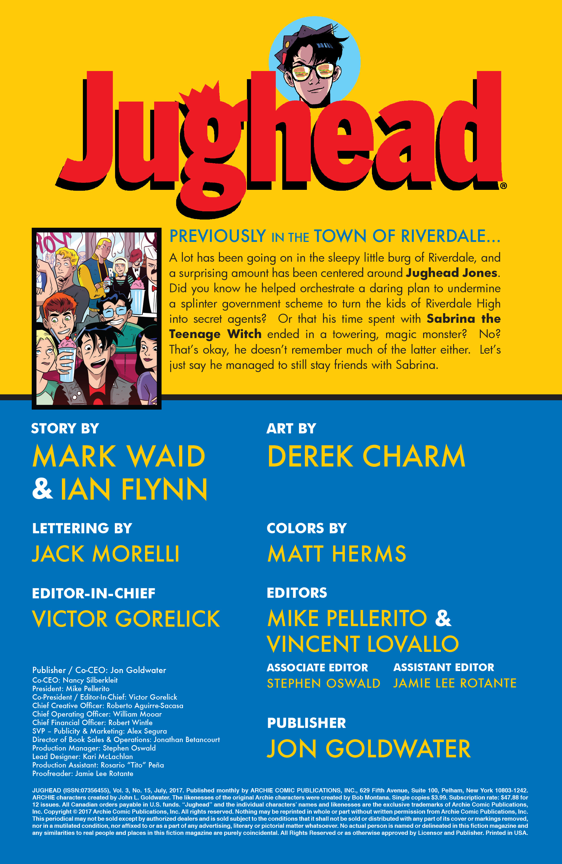 Read online Jughead (2015) comic -  Issue #15 - 2