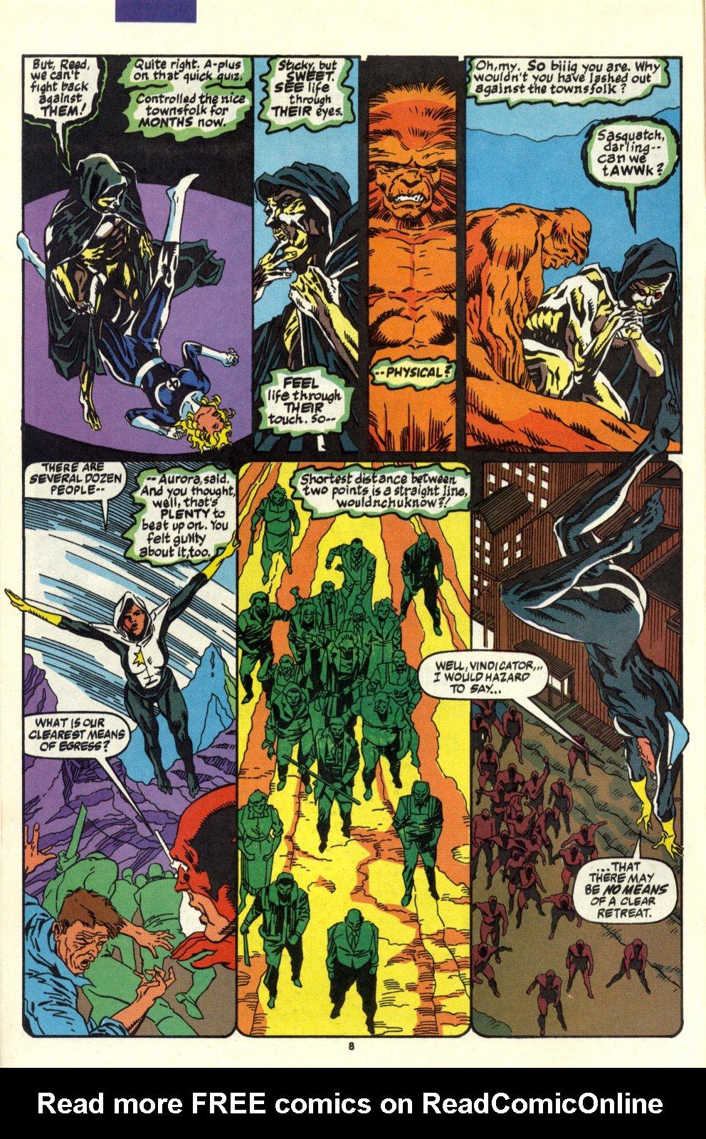 Read online Alpha Flight (1983) comic -  Issue #93 - 7