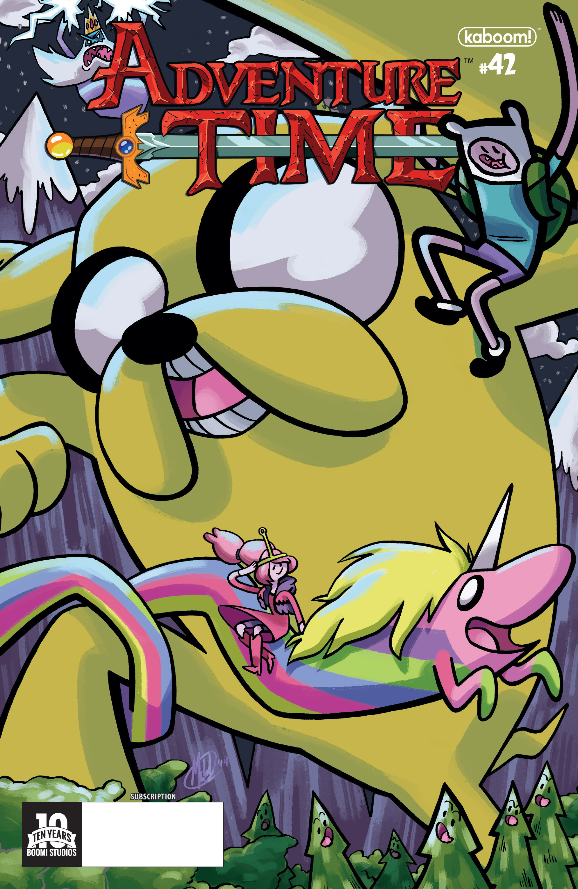 Read online Adventure Time comic -  Issue #42 - 2