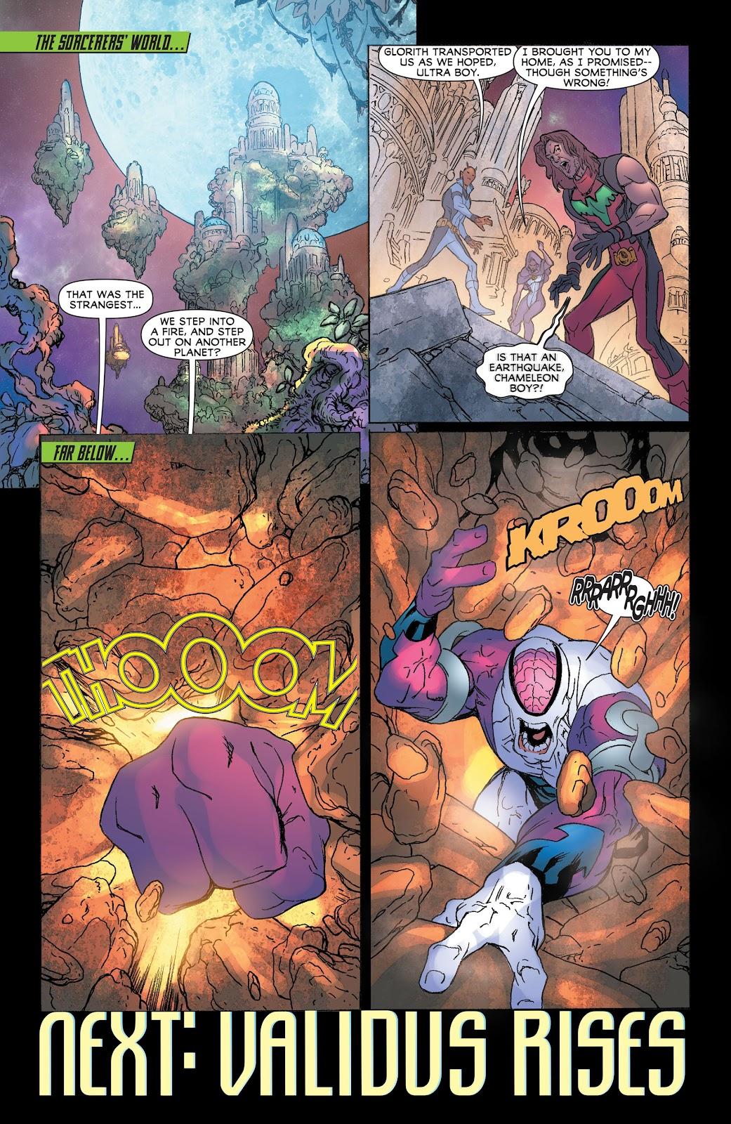 Legion of Super-Heroes (2011) Issue #19 #20 - English 22