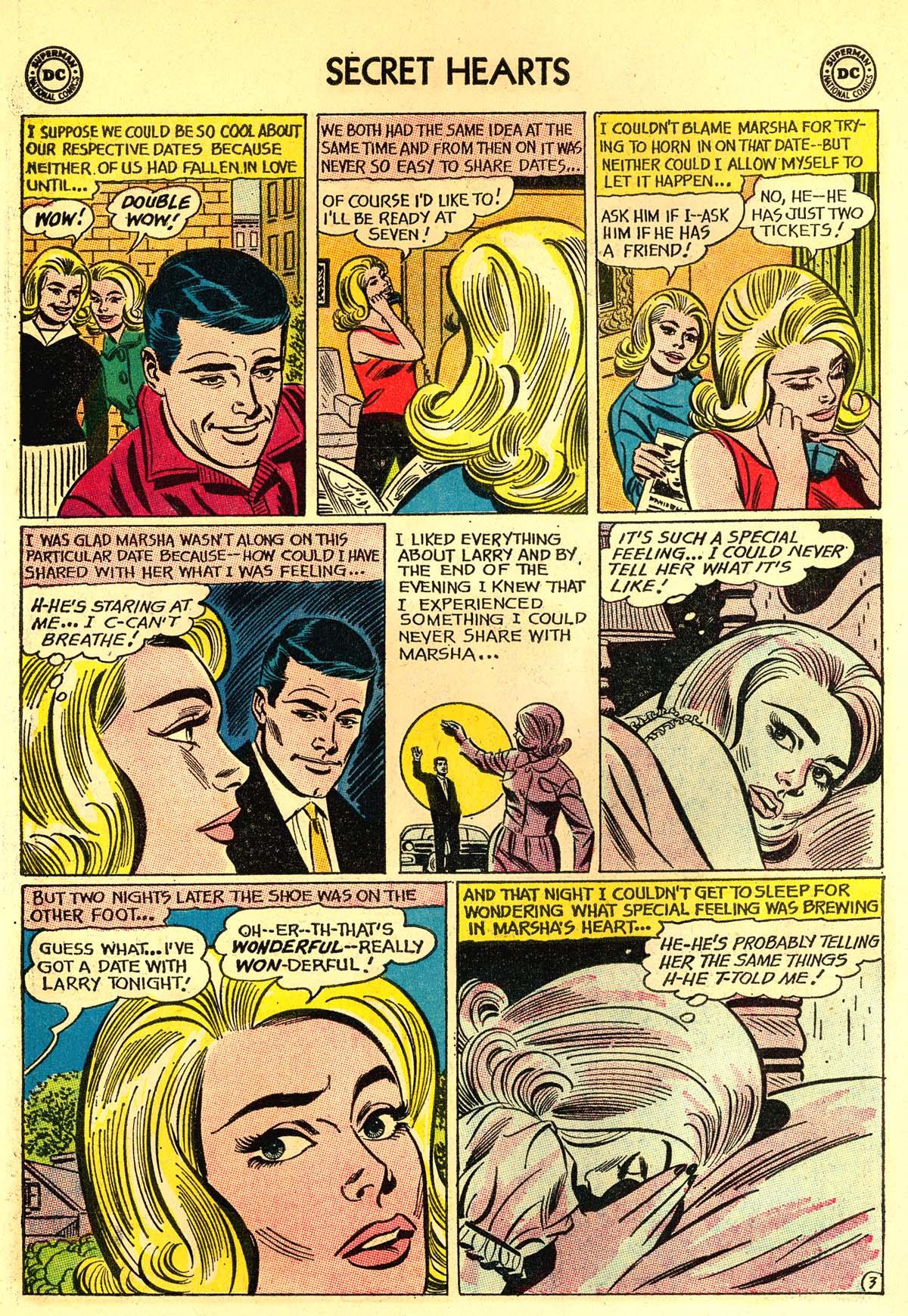 Read online Secret Hearts comic -  Issue #89 - 22