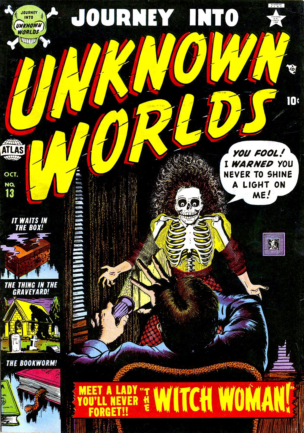 Journey Into Unknown Worlds (1950) issue 13 - Page 1