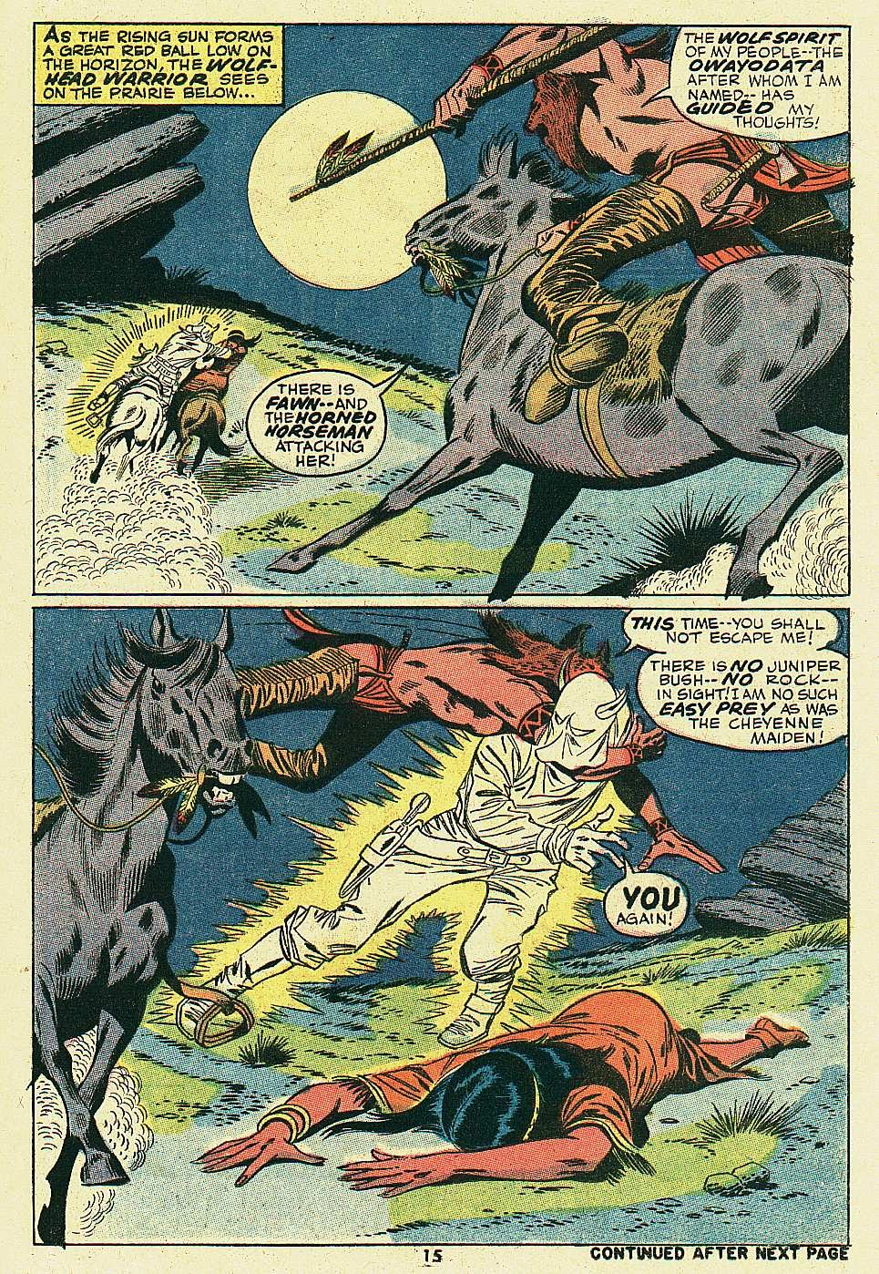 Red Wolf (1972) issue 6 - Page 12