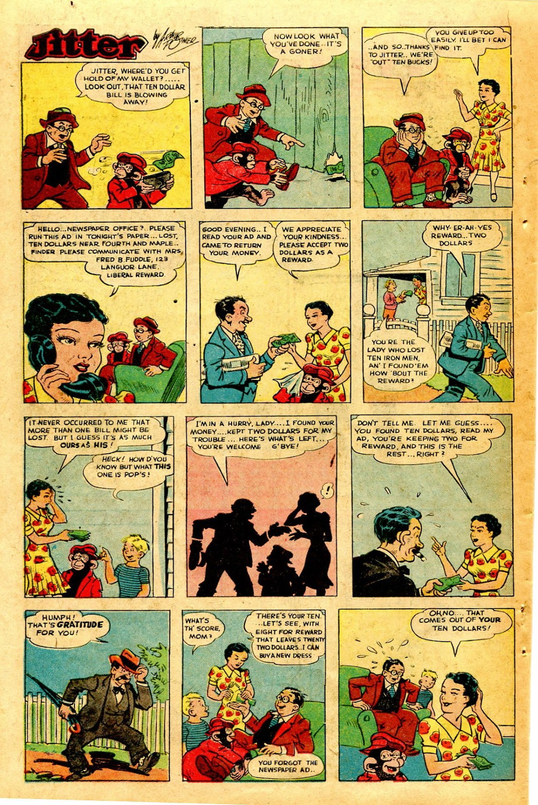 Read online Famous Funnies comic -  Issue #126 - 40