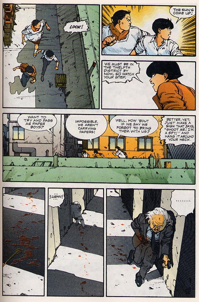 Read online Akira comic -  Issue #15 - 46