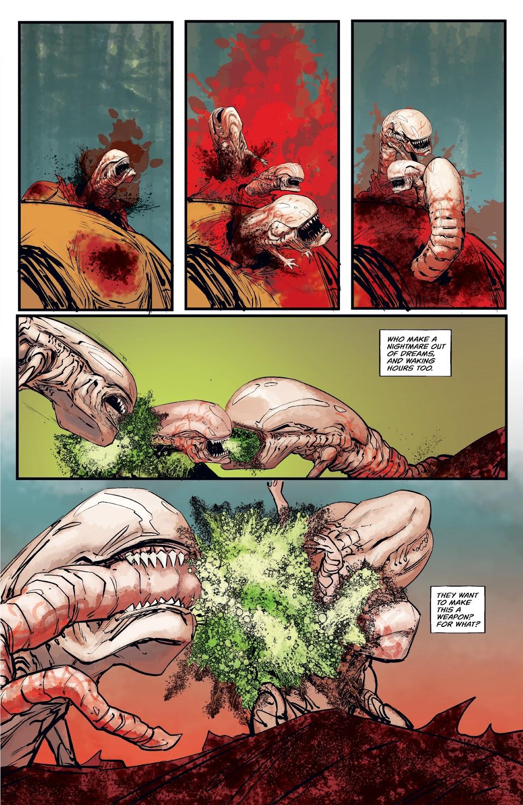 Read online Aliens: Resistance comic -  Issue #4 - 5