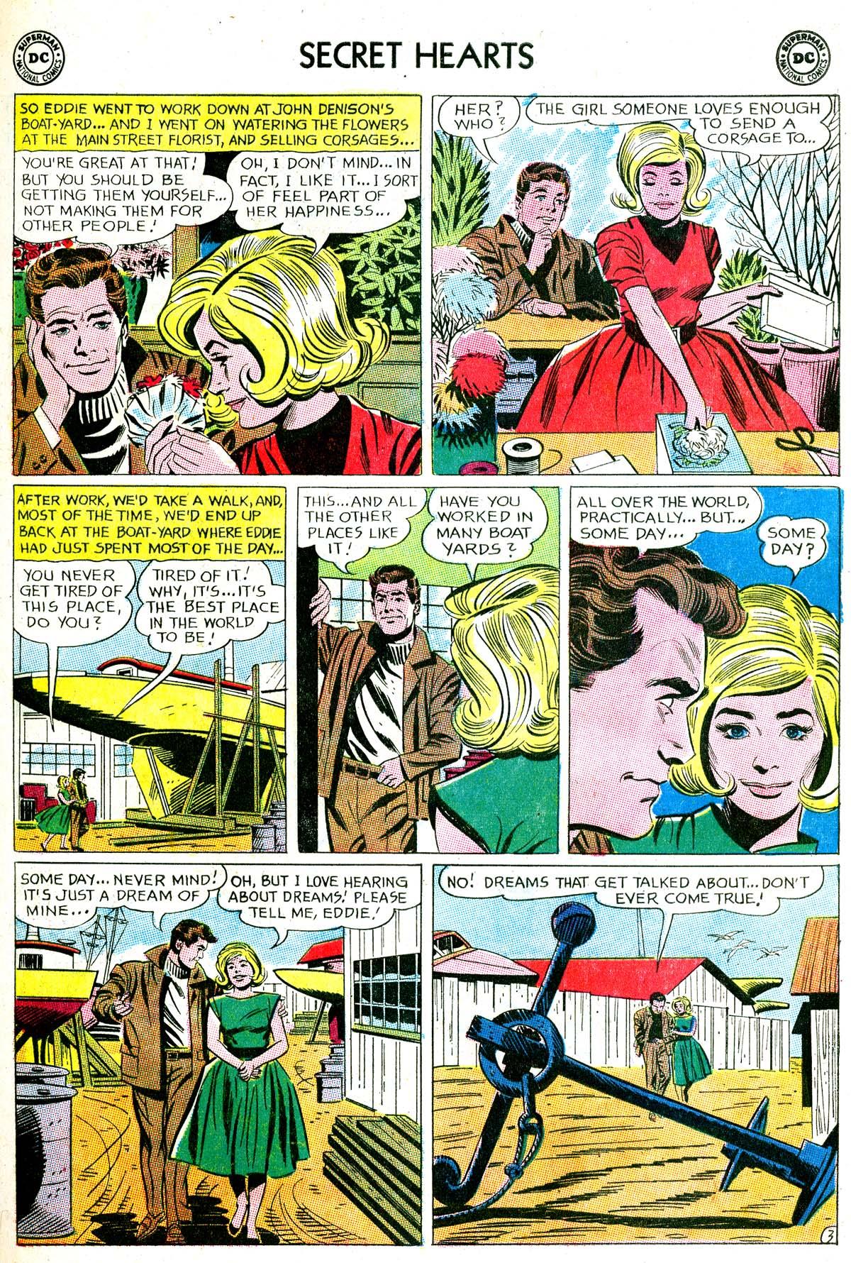 Read online Secret Hearts comic -  Issue #87 - 13