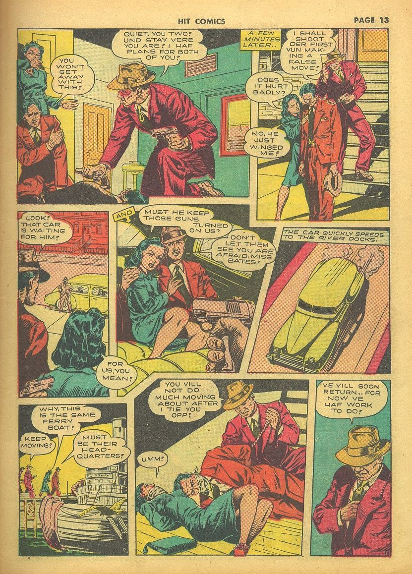 Read online Hit Comics comic -  Issue #24 - 15