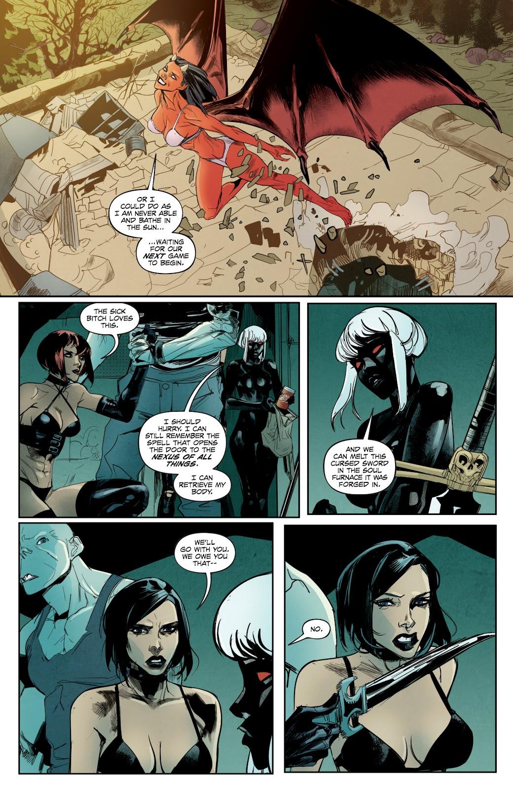 Read online Hack/Slash vs. Chaos comic -  Issue #5 - 21