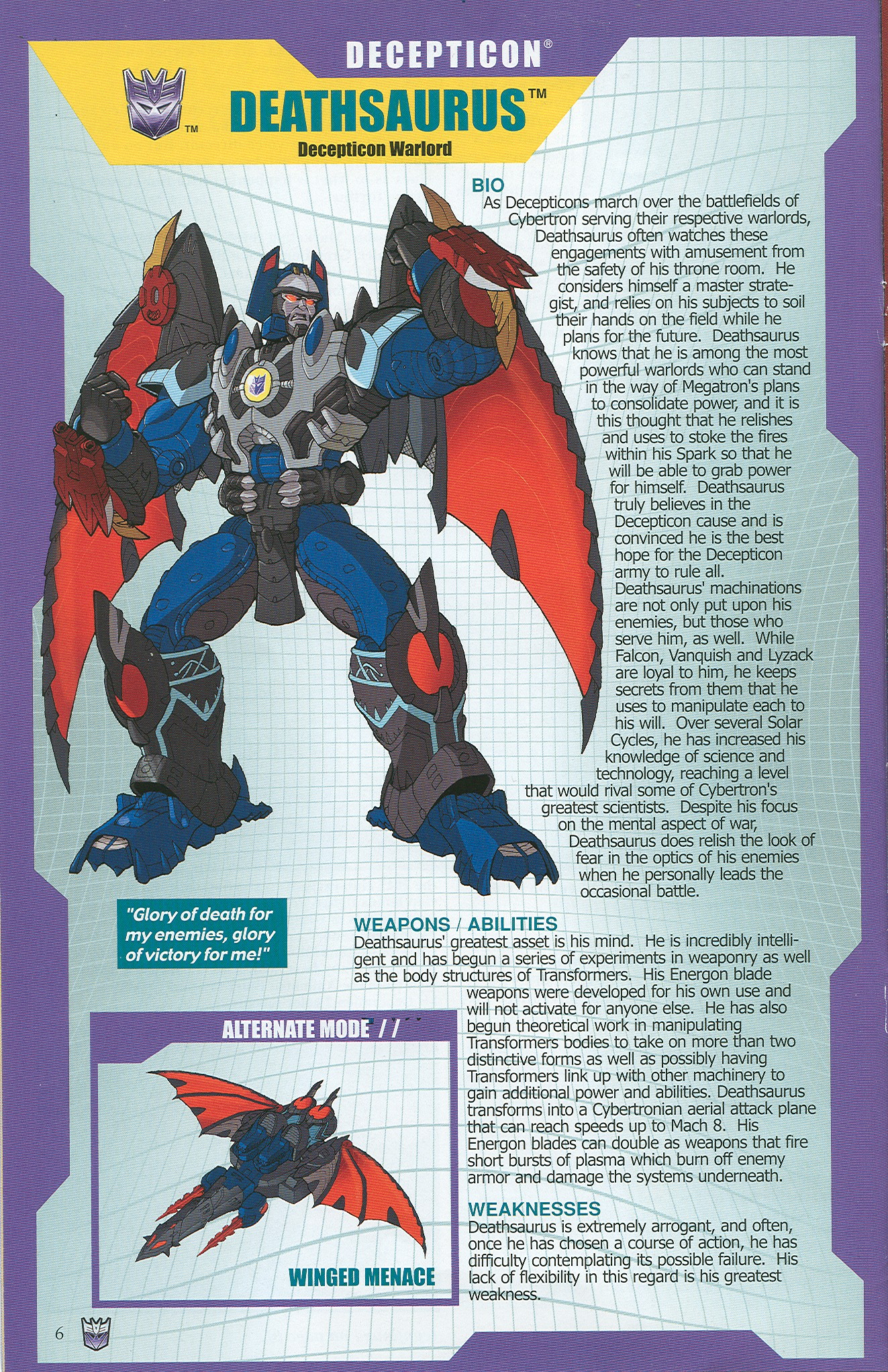 Read online Transformers: Collectors' Club comic -  Issue #34 - 6