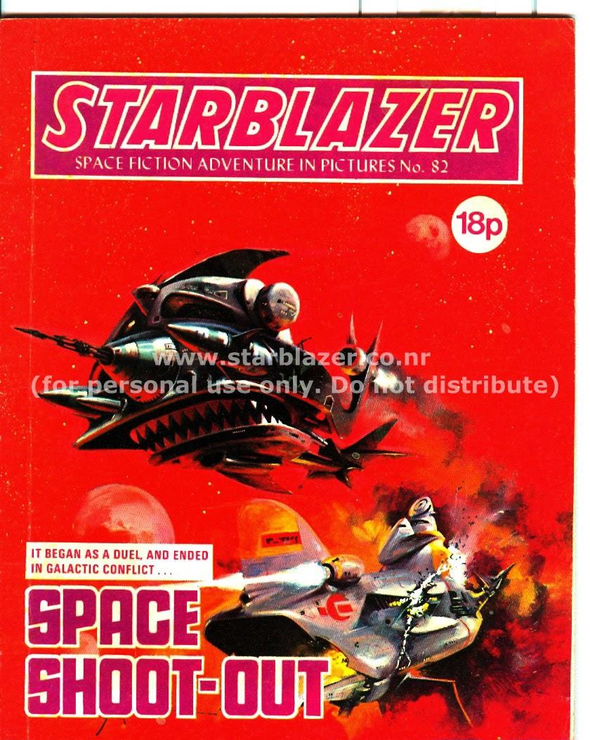 Starblazer issue 82 - Page 1
