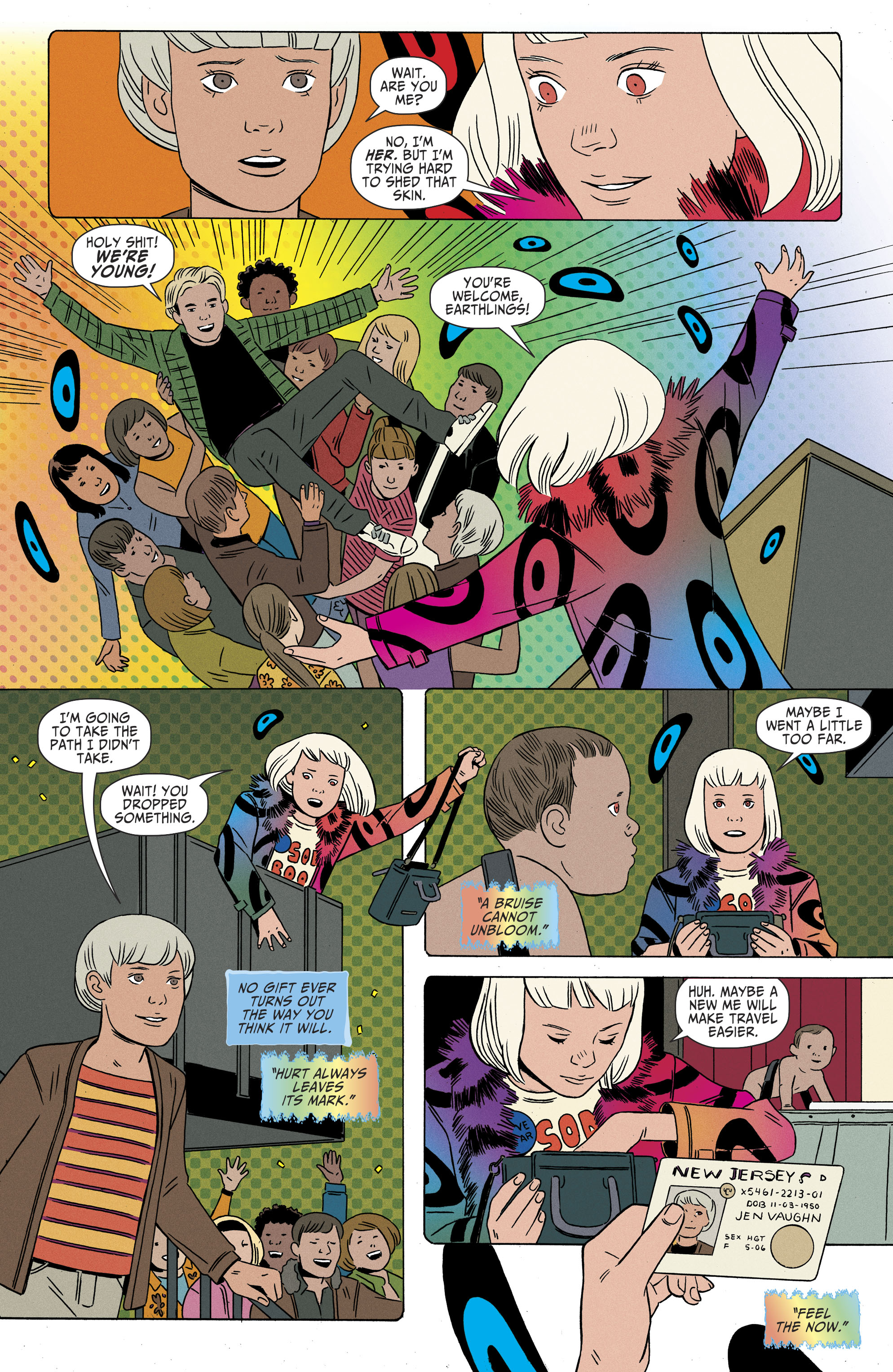 Read online Shade, the Changing Girl comic -  Issue #9 - 12