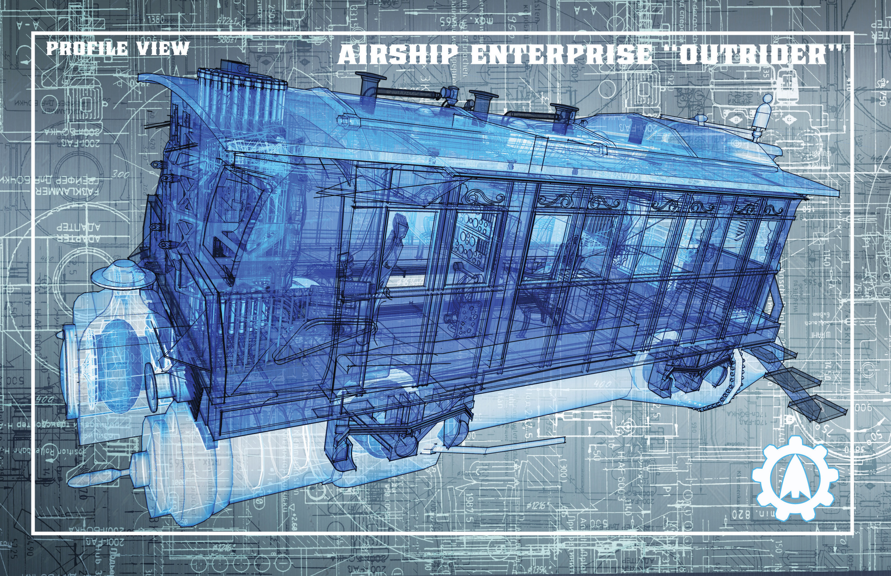 Read online Airship Enterprise: The Infernal Machine comic -  Issue #3 - 23