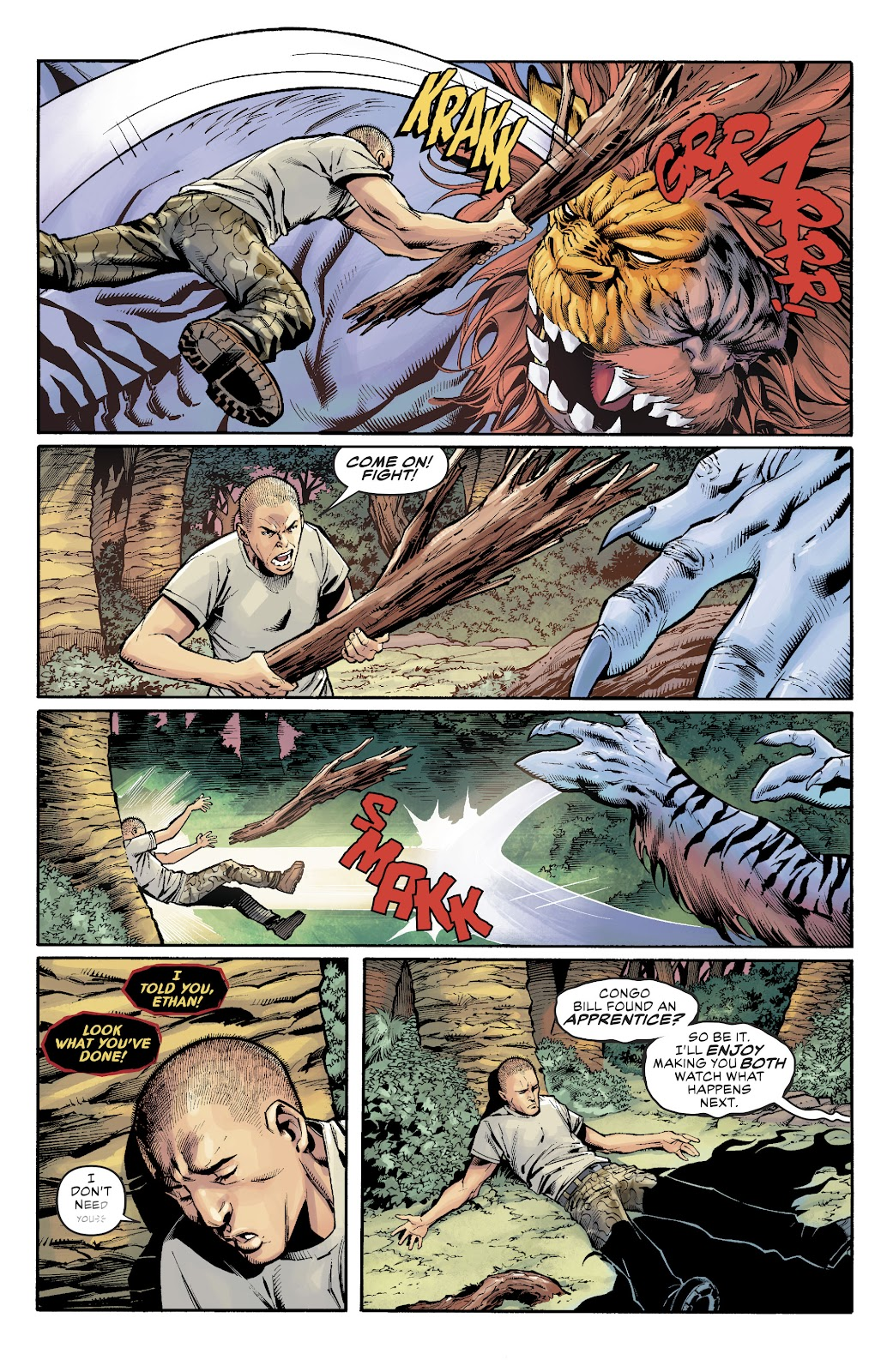 Read online Damage (2018) comic -  Issue #15 - 21
