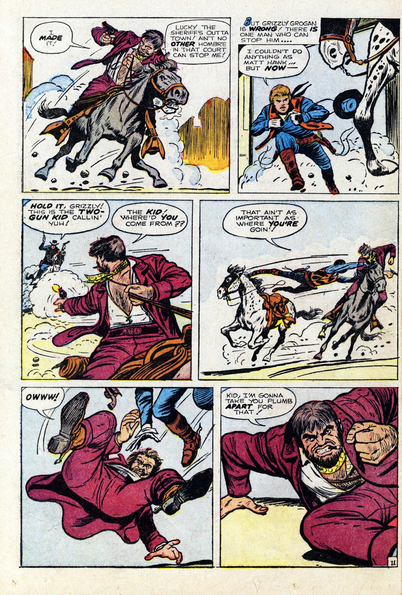 Read online Two-Gun Kid comic -  Issue #64 - 16