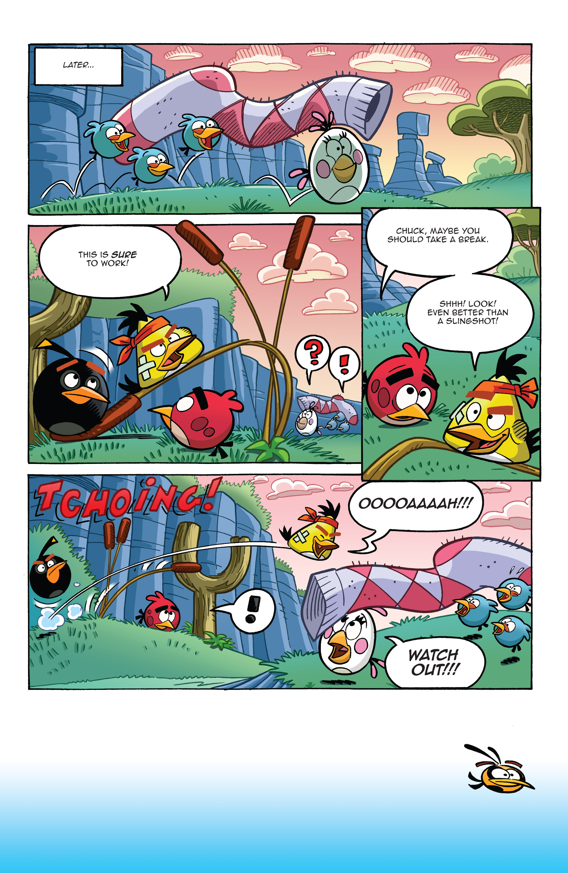 Read online Angry Birds Comics (2014) comic -  Issue #8 - 8