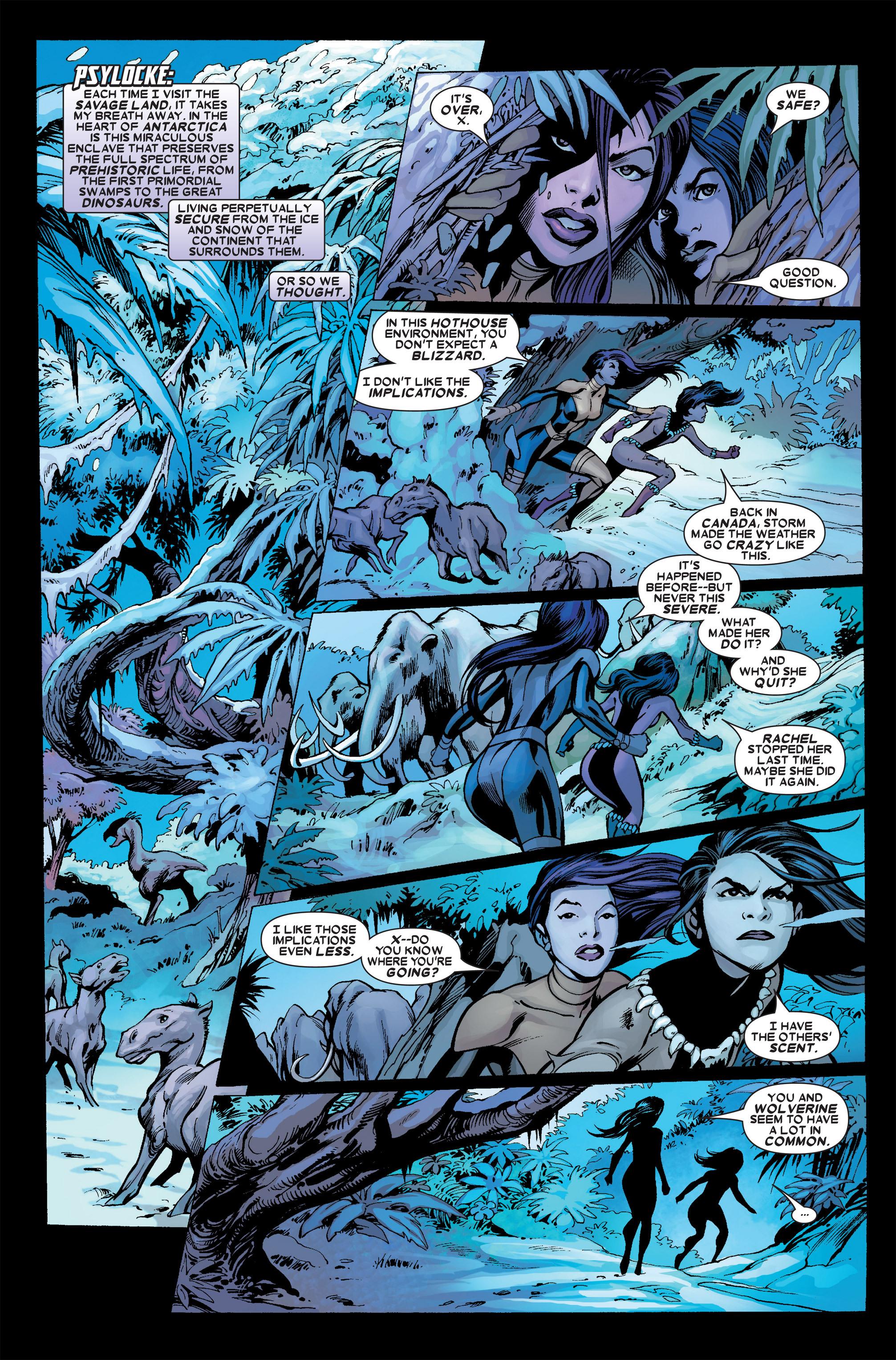 Read online Uncanny X-Men (1963) comic -  Issue #457 - 12