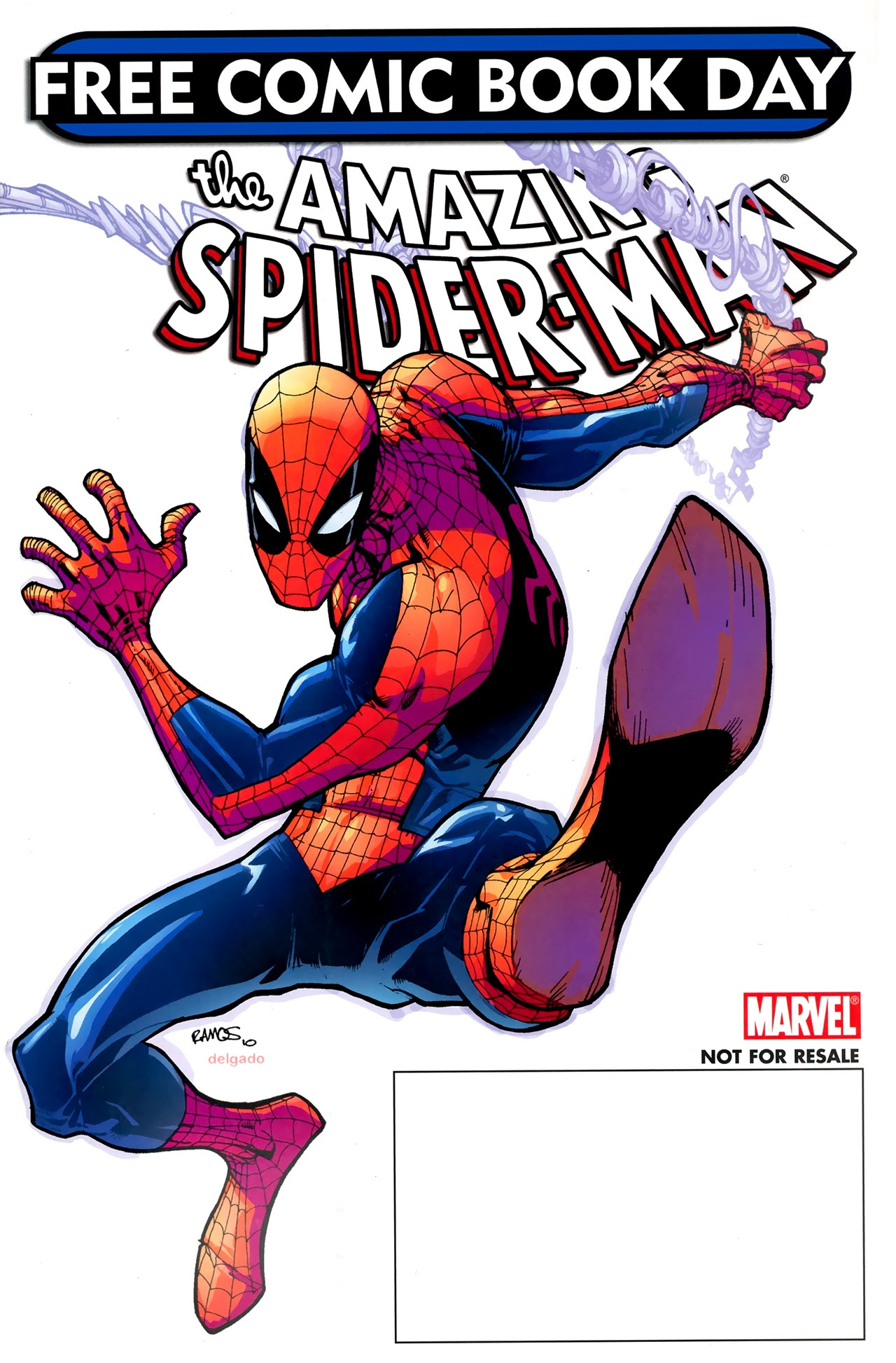 Free Comic Book Day 2011 (Spider-Man) Full Page 1
