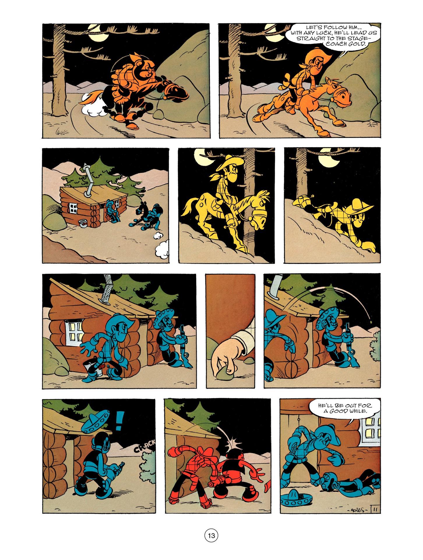 Read online A Lucky Luke Adventure comic -  Issue #55 - 13