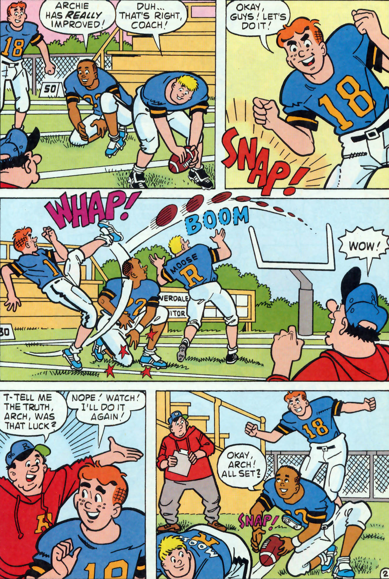 Read online Archie (1960) comic -  Issue #456 - 14