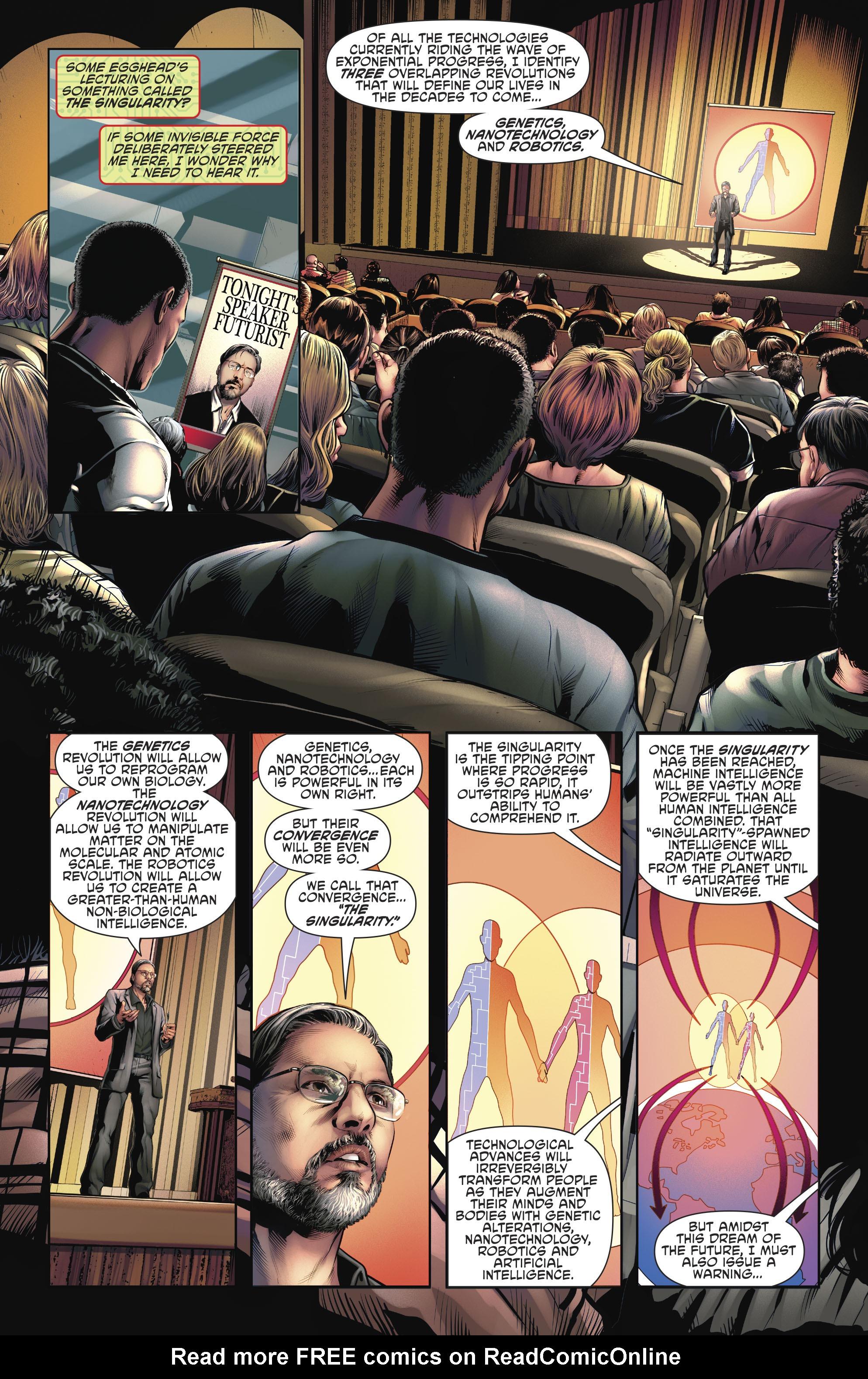 Read online Cyborg (2016) comic -  Issue #12 - 7