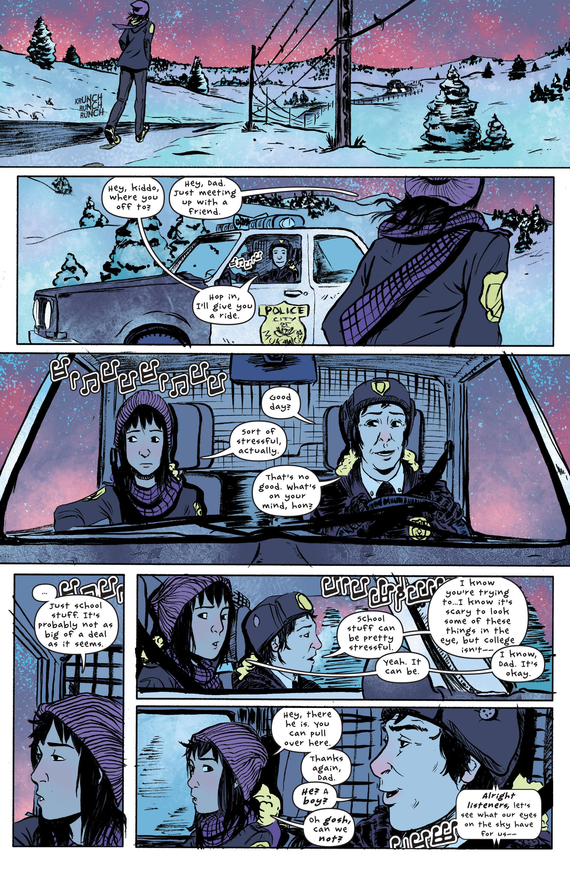 Read online UFOlogy comic -  Issue #1 - 13