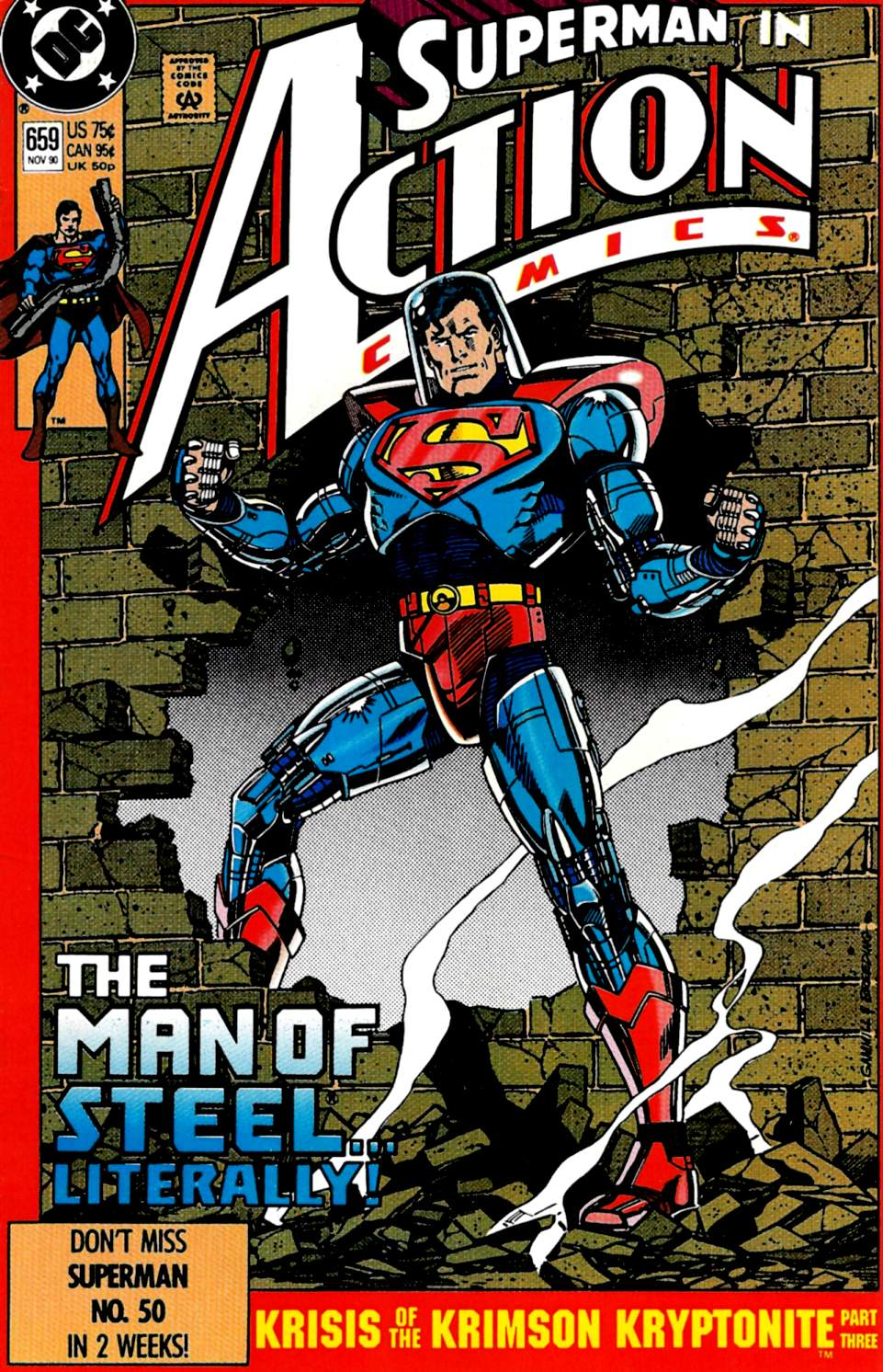 Action Comics (1938) 659 Page 0