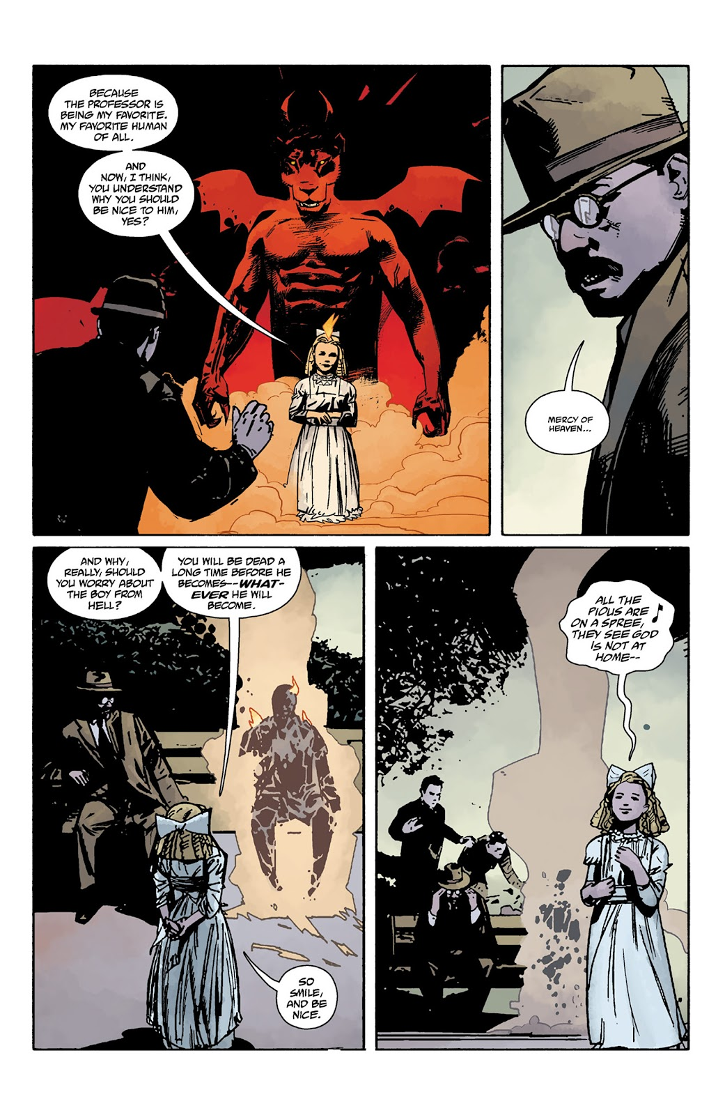 Read online Hellboy and the B.P.R.D. comic -  Issue # _TPB - 124