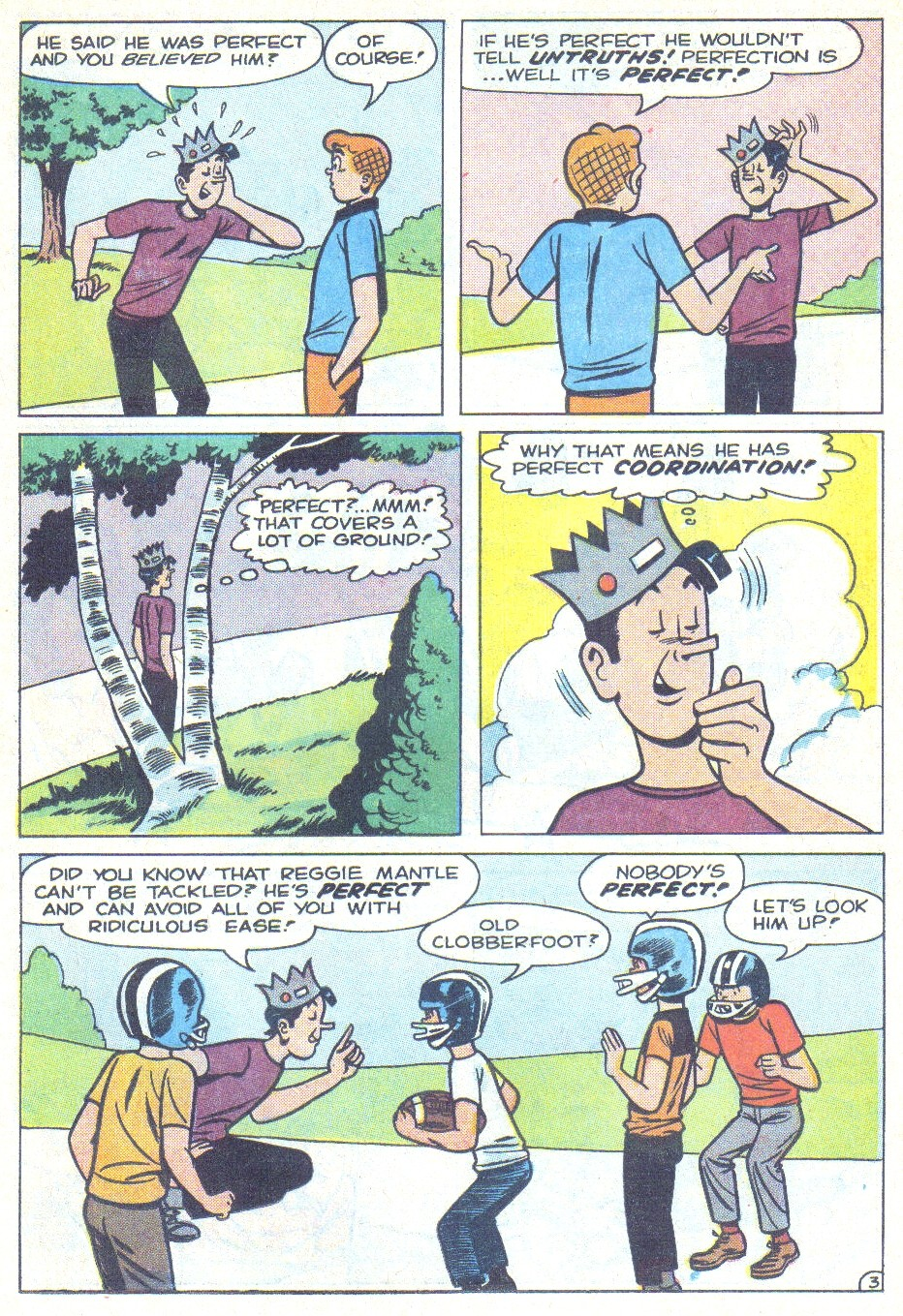Read online Archie (1960) comic -  Issue #166 - 13
