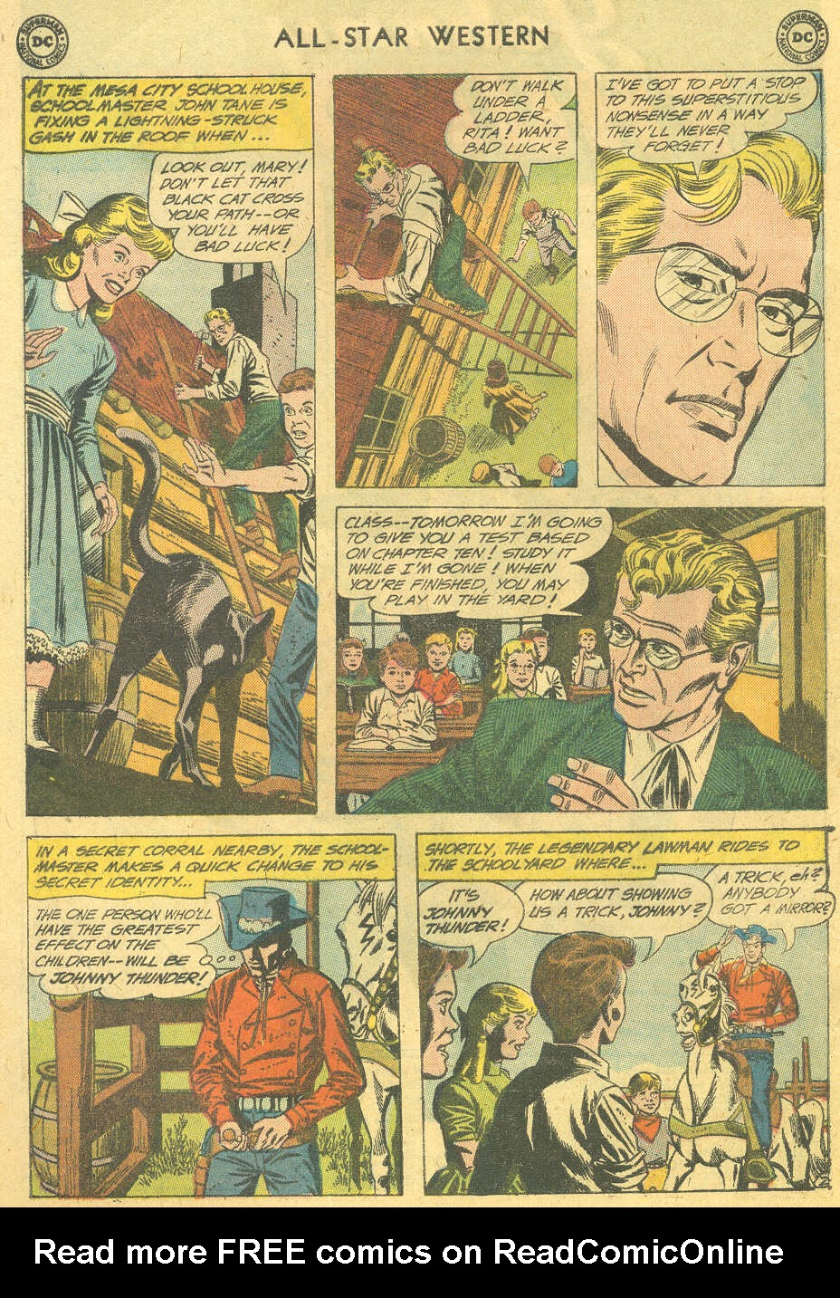 Read online All-Star Western (1951) comic -  Issue #114 - 4