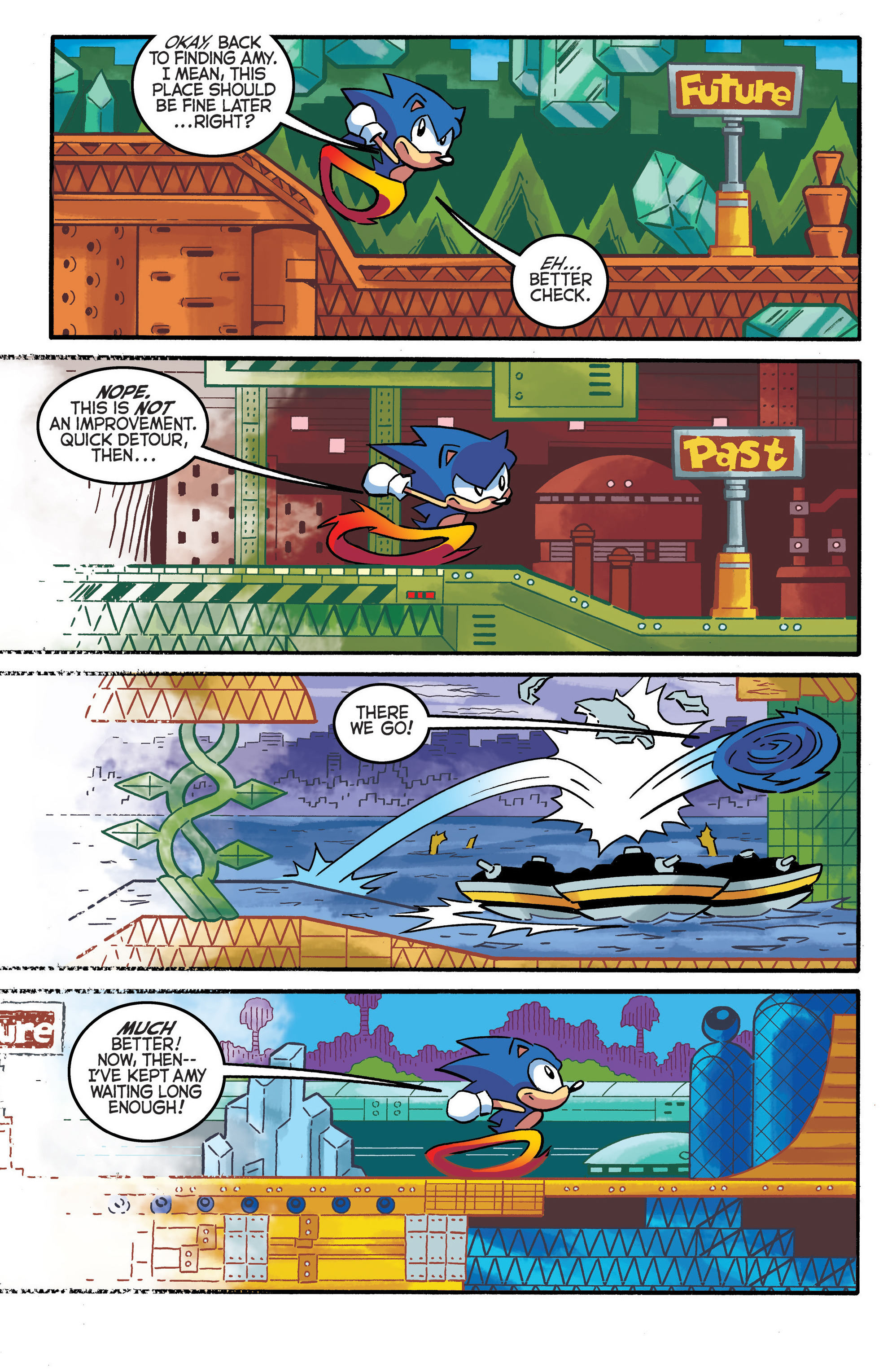 Read online Sonic The Hedgehog comic -  Issue #290 - 16