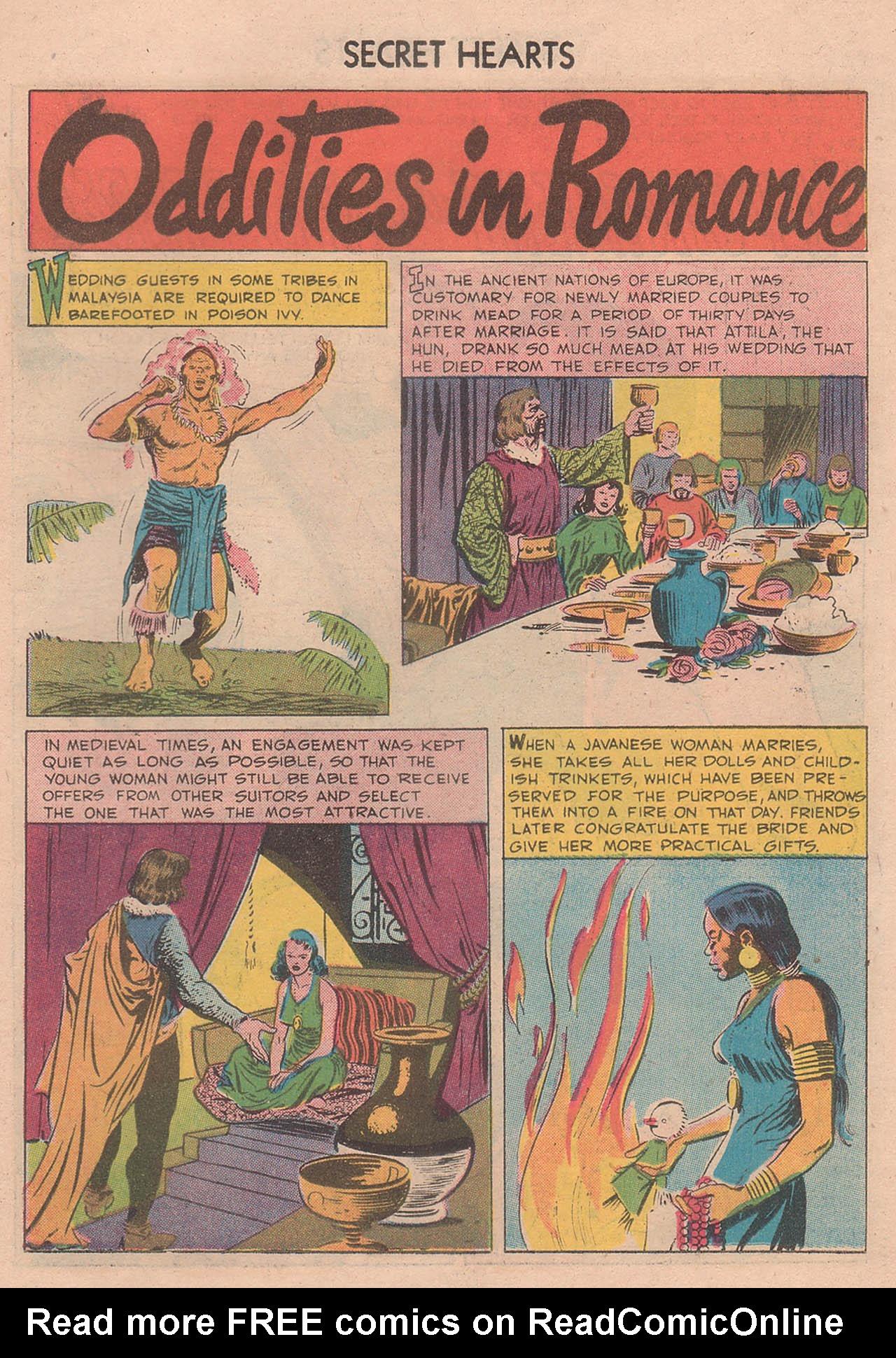 Read online Secret Hearts comic -  Issue #39 - 19