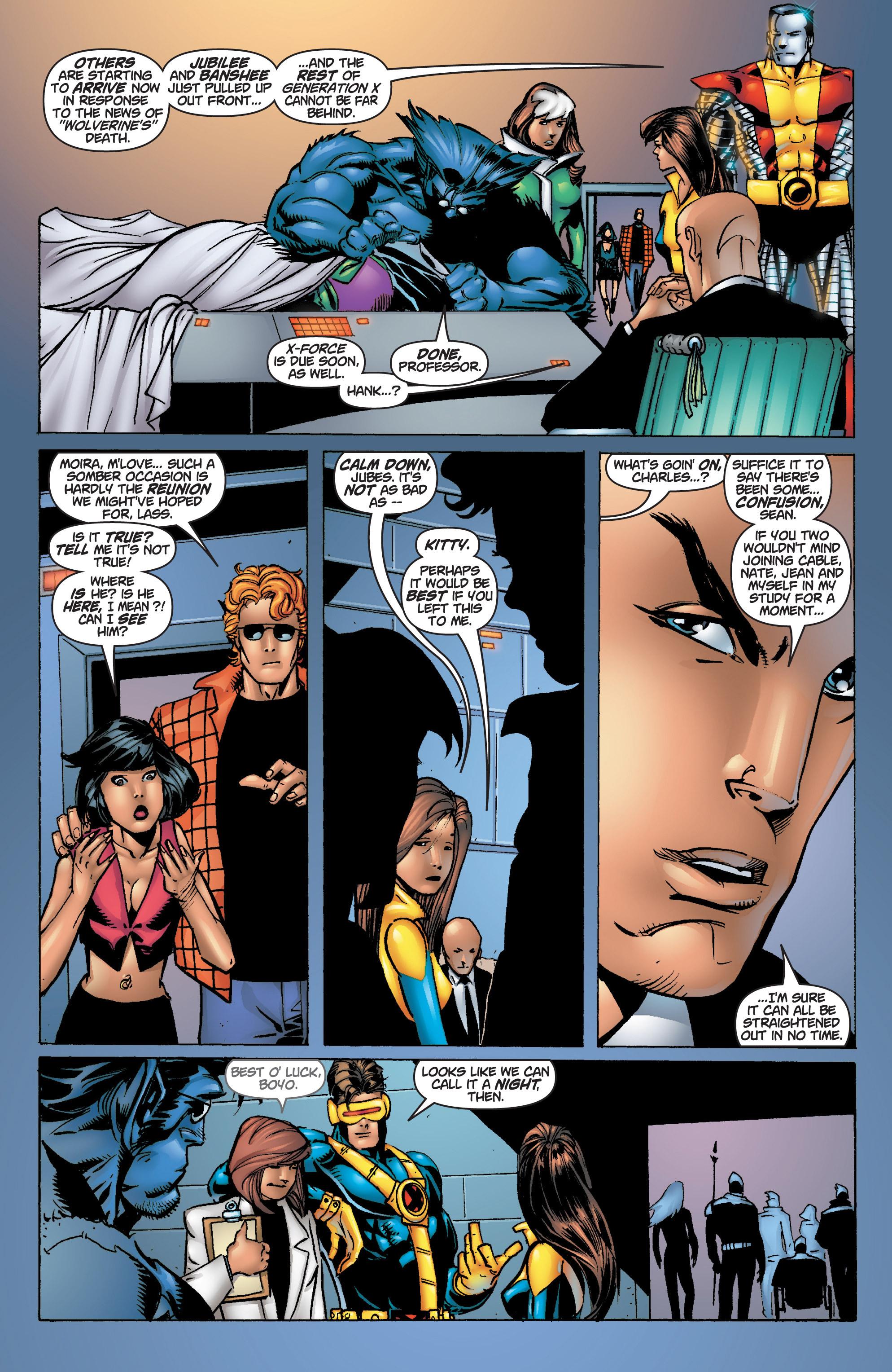 Read online Uncanny X-Men (1963) comic -  Issue #375 - 33