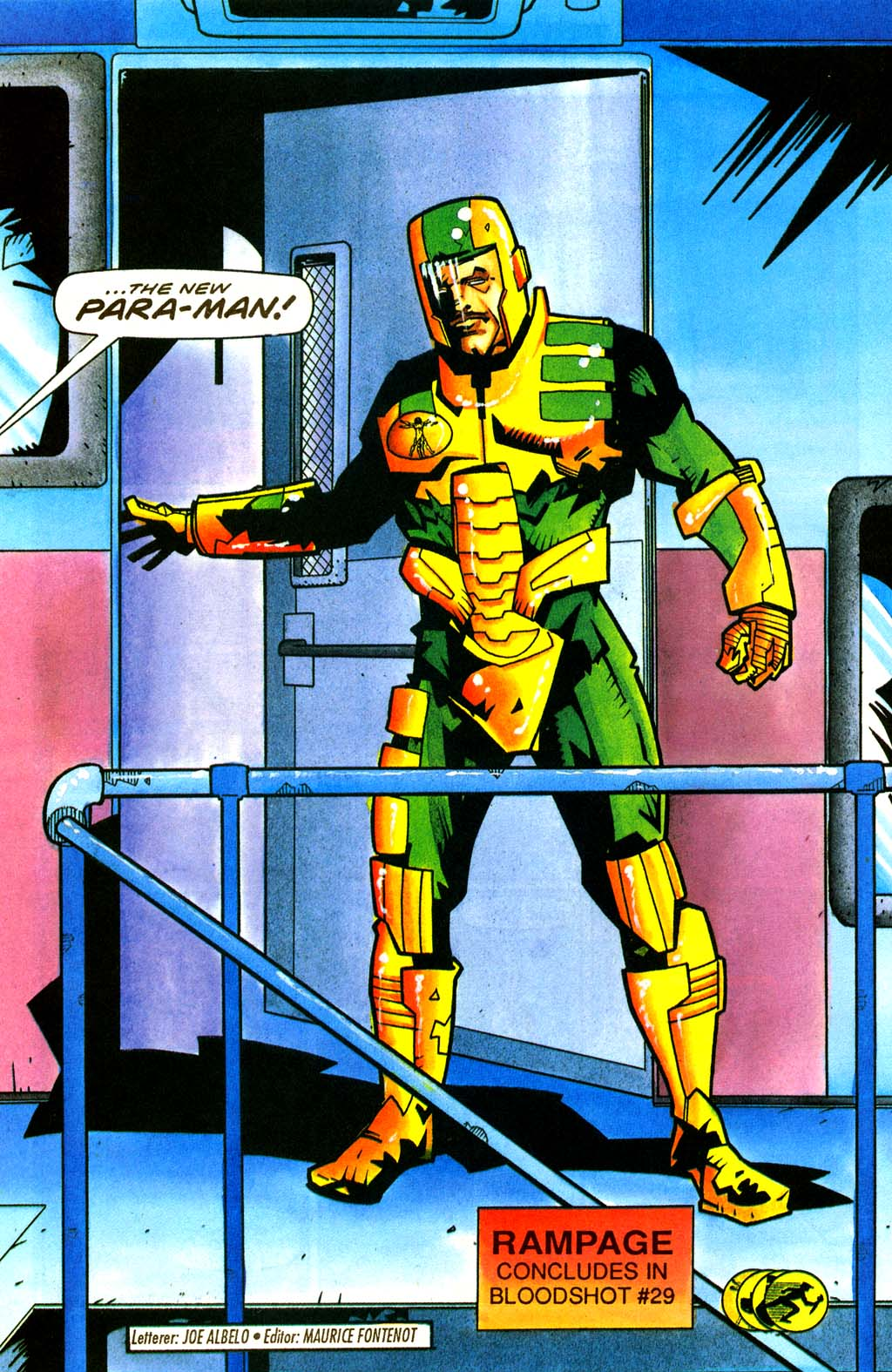 Read online Secret Weapons comic -  Issue #21 - 20