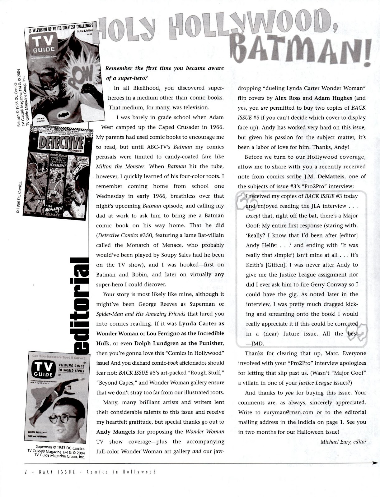 Back Issue issue 5 - Page 4