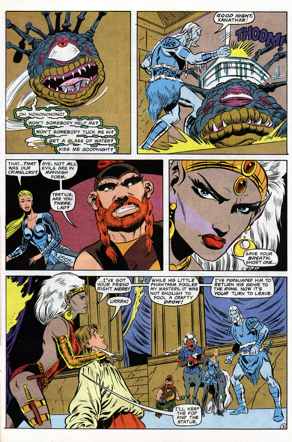 Read online Advanced Dungeons & Dragons comic -  Issue #12 - 26