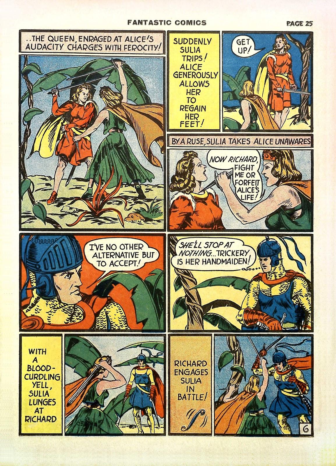 Read online Fantastic Comics comic -  Issue #11 - 28