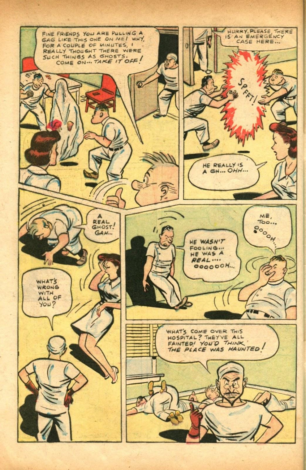 Read online Super-Magician Comics comic -  Issue #51 - 42