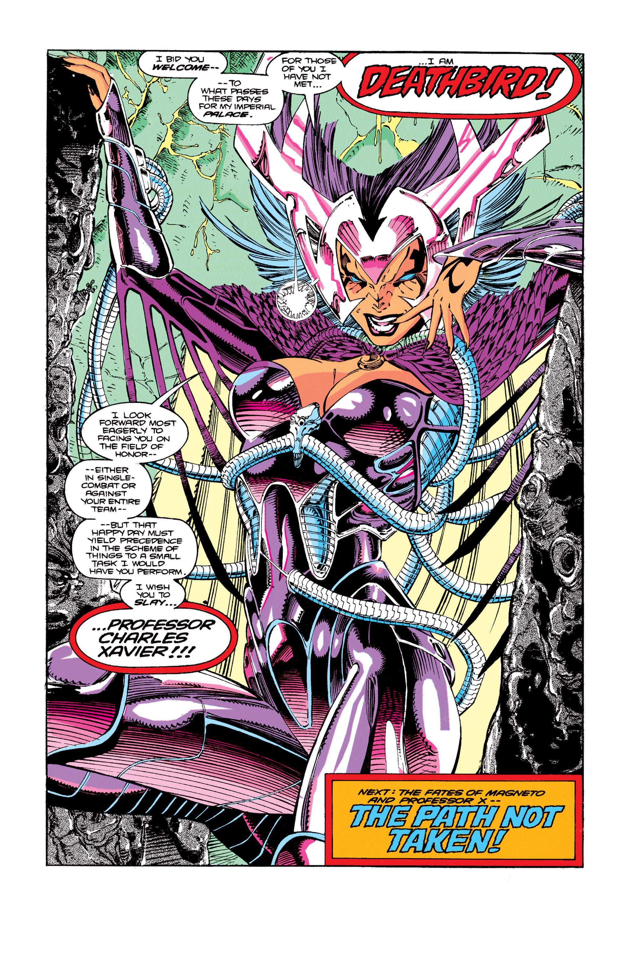 Read online Uncanny X-Men (1963) comic -  Issue #274 - 23