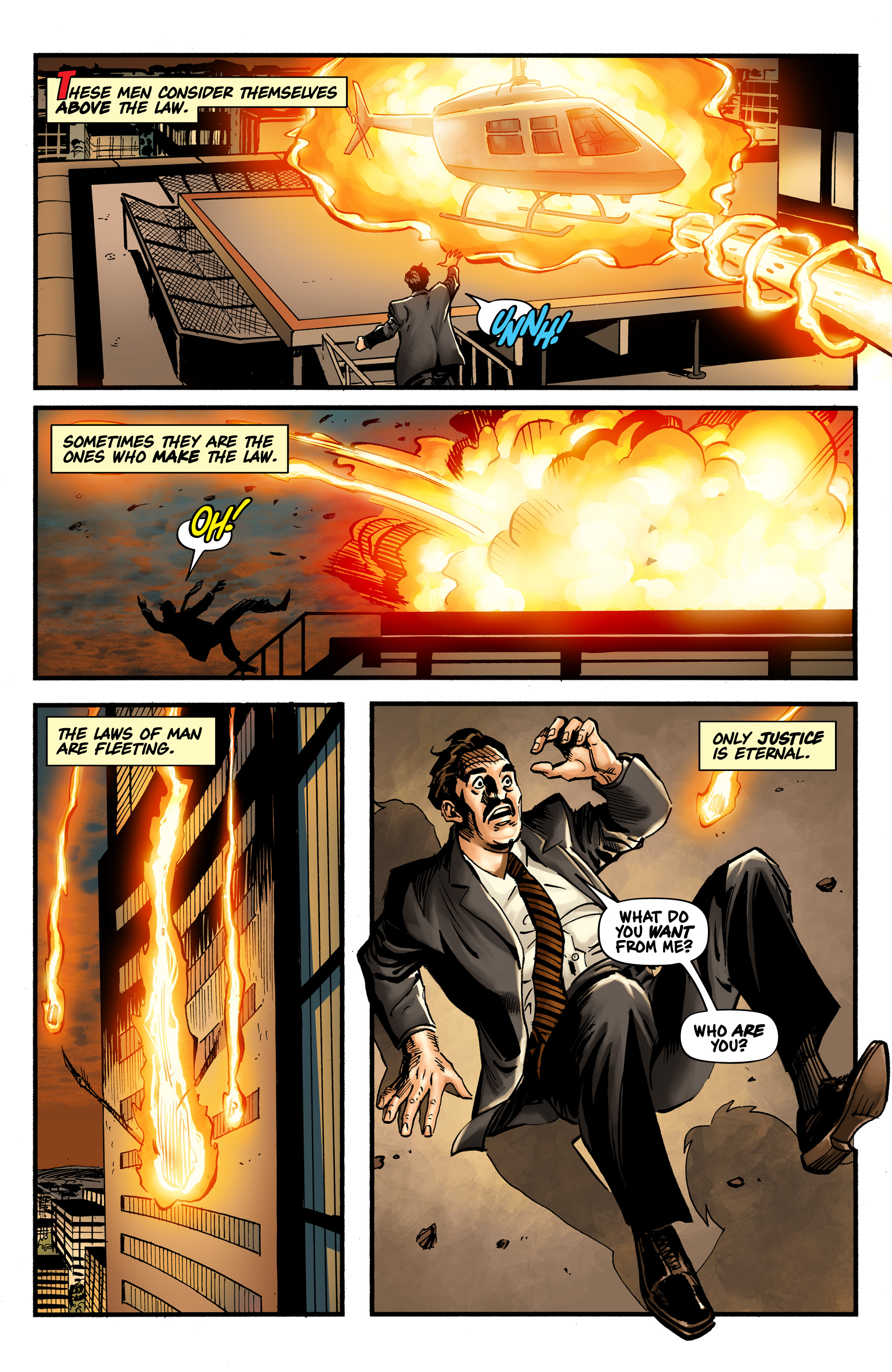 Read online Shadow Tiger comic -  Issue #1 - 4