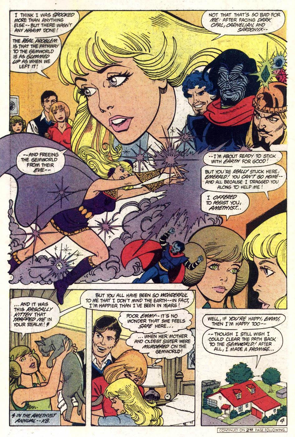 Read online Amethyst (1985) comic -  Issue #1 - 5