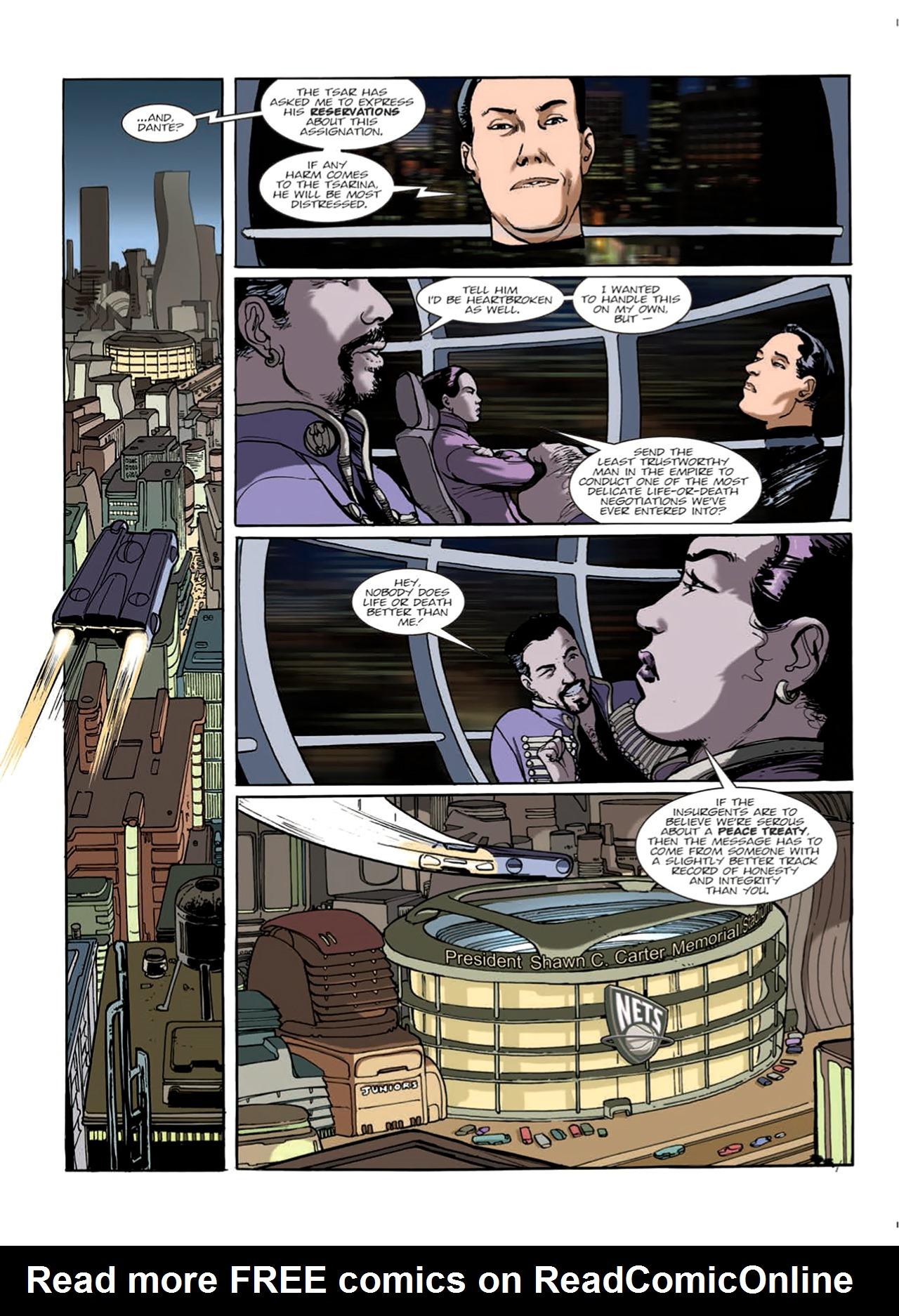 Read online Nikolai Dante comic -  Issue # TPB 9 - 36
