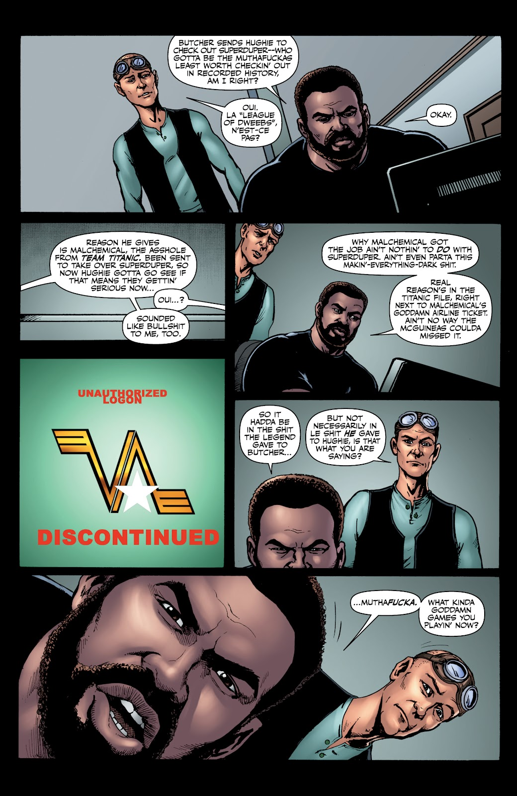 Read online The Boys Omnibus comic -  Issue # TPB 4 (Part 1) - 64