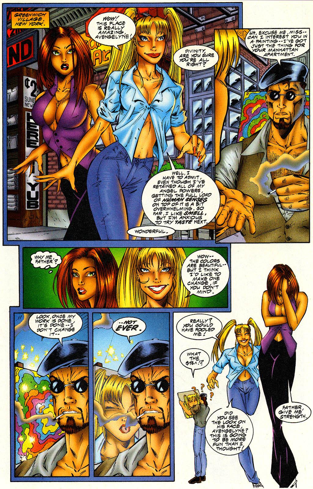 Read online Avengelyne (1996) comic -  Issue #6 - 7