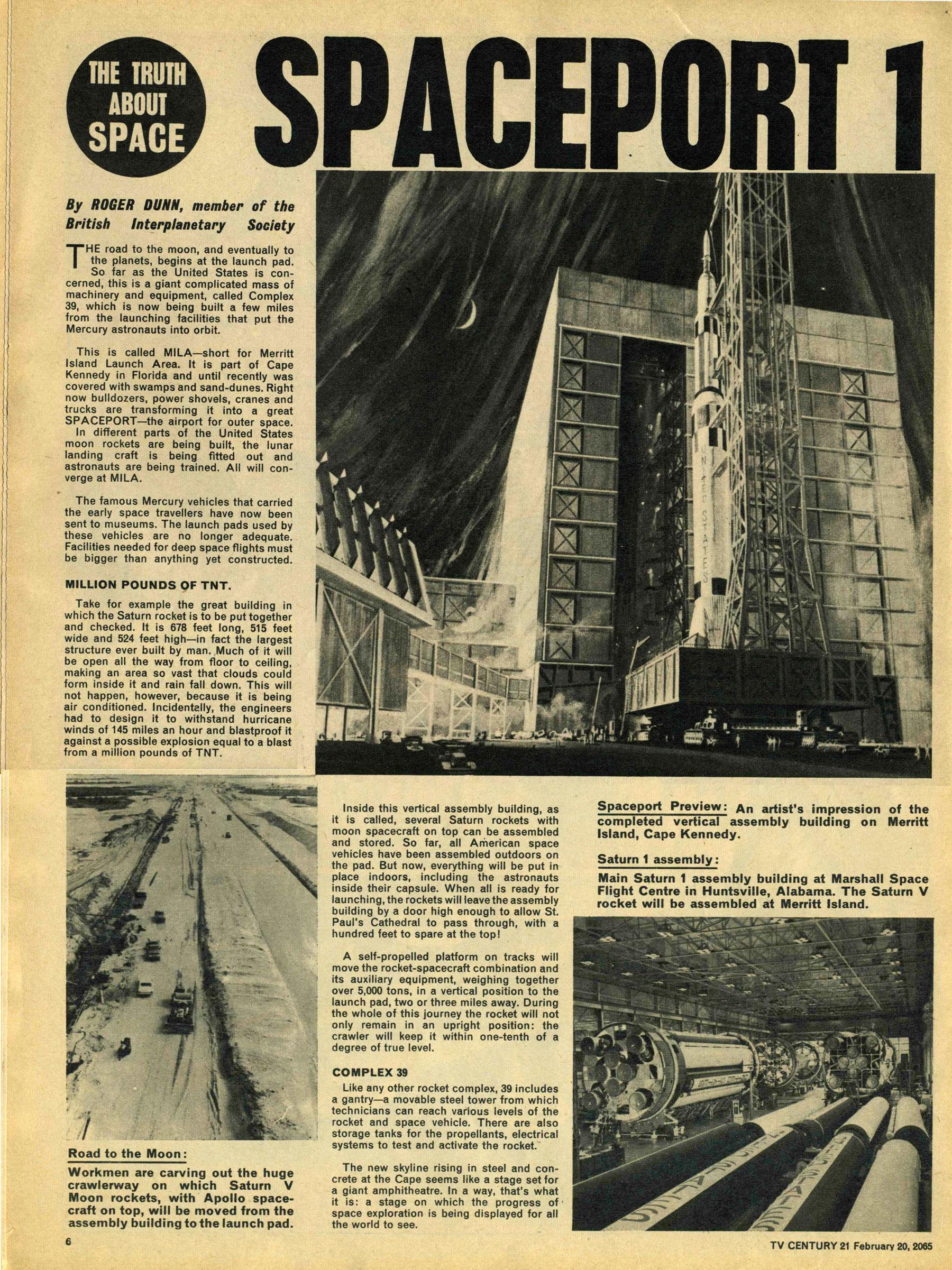 Read online TV Century 21 (TV 21) comic -  Issue #5 - 6
