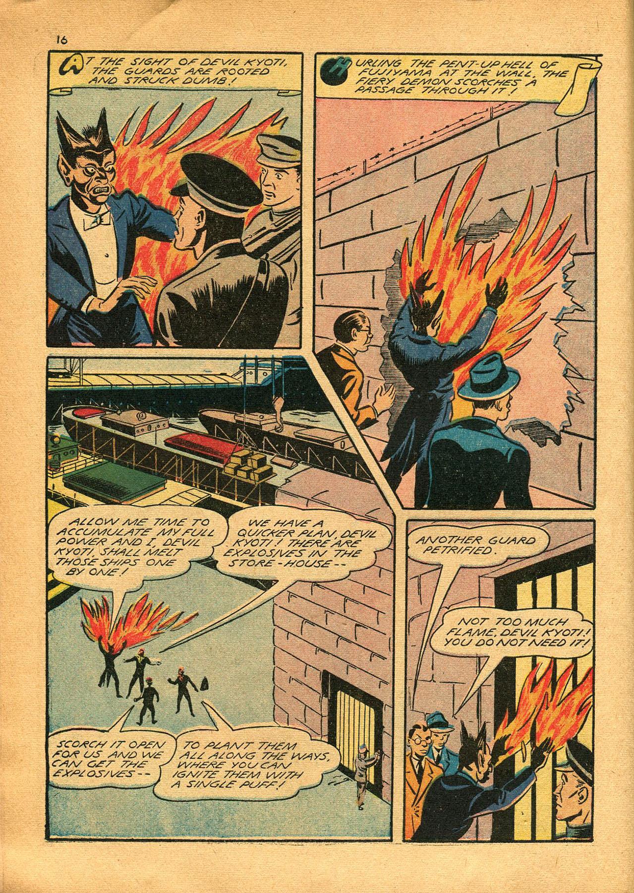 Read online Shadow Comics comic -  Issue #23 - 16